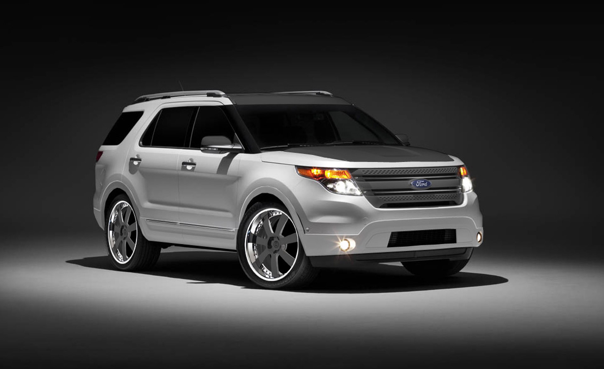 Ford To Debut Three Different 2011 Explorer Rides At Sema