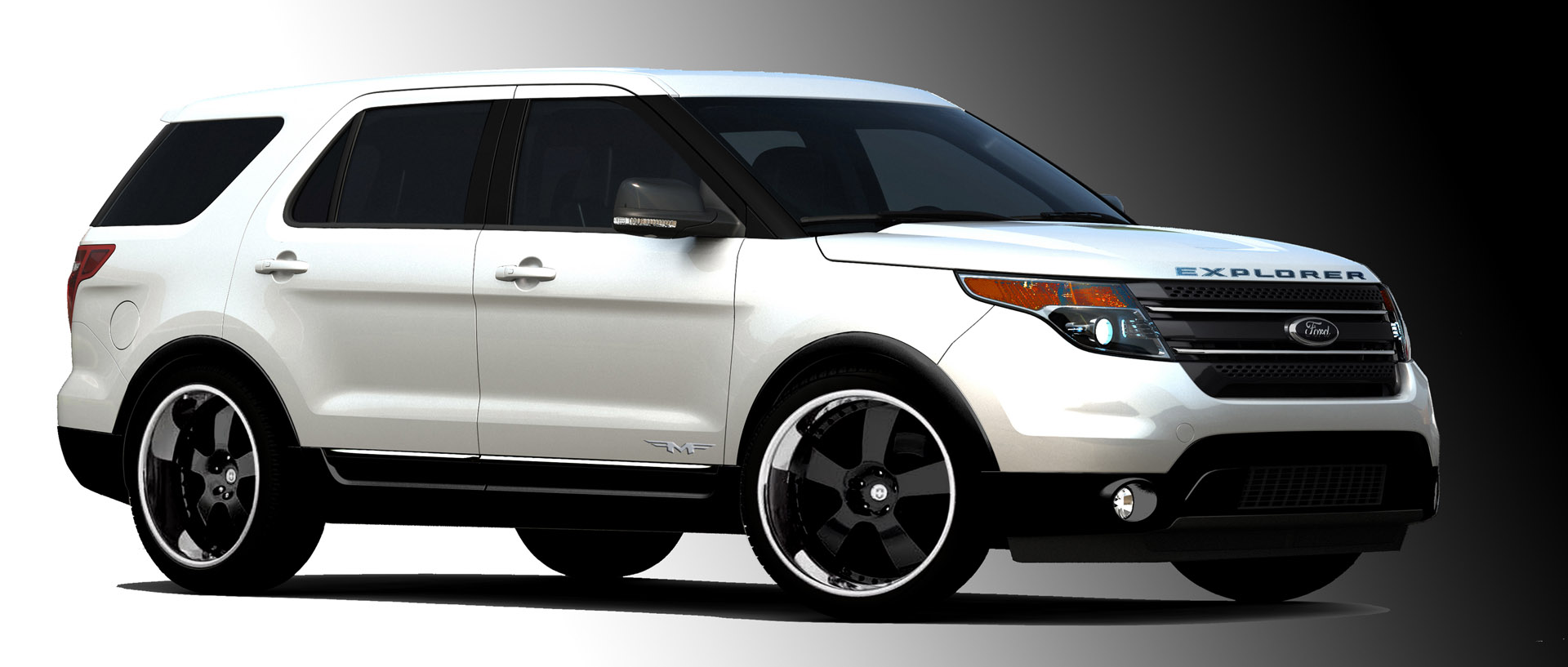 ford to debut three different 2011 explorer rides at sema. Black Bedroom Furniture Sets. Home Design Ideas