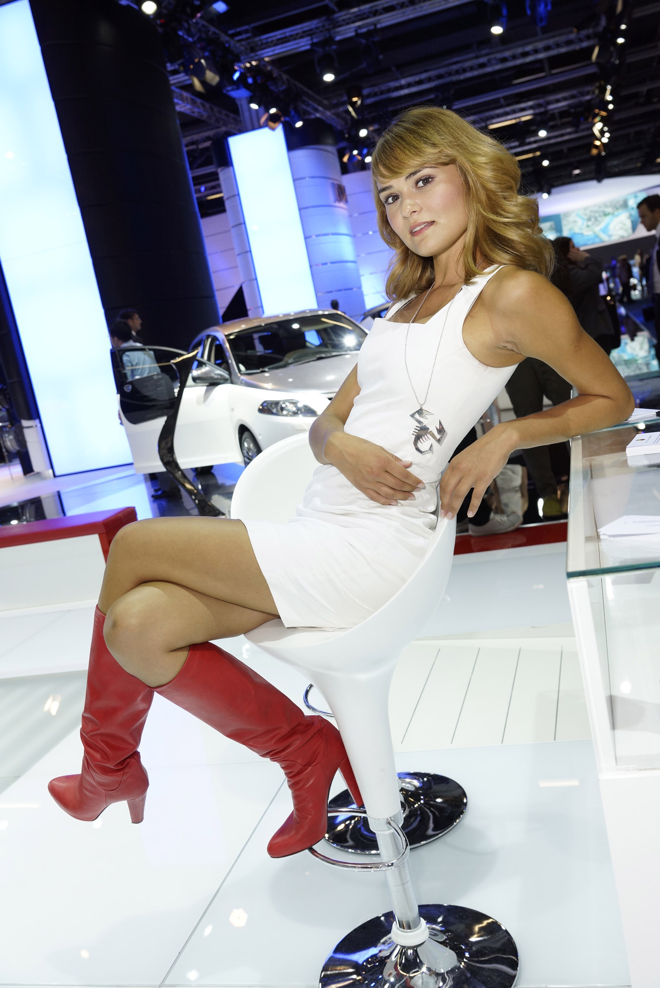 Frankfurt motor show girls picture 58746