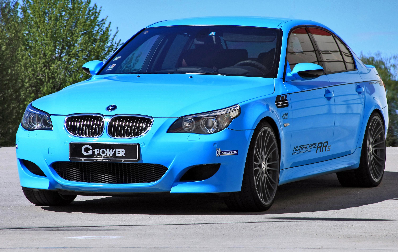 Созданный на базе BMW M5 (E60) спорткар G-Power Hurricane по праву носит звание самого быстрого седана на планете. .