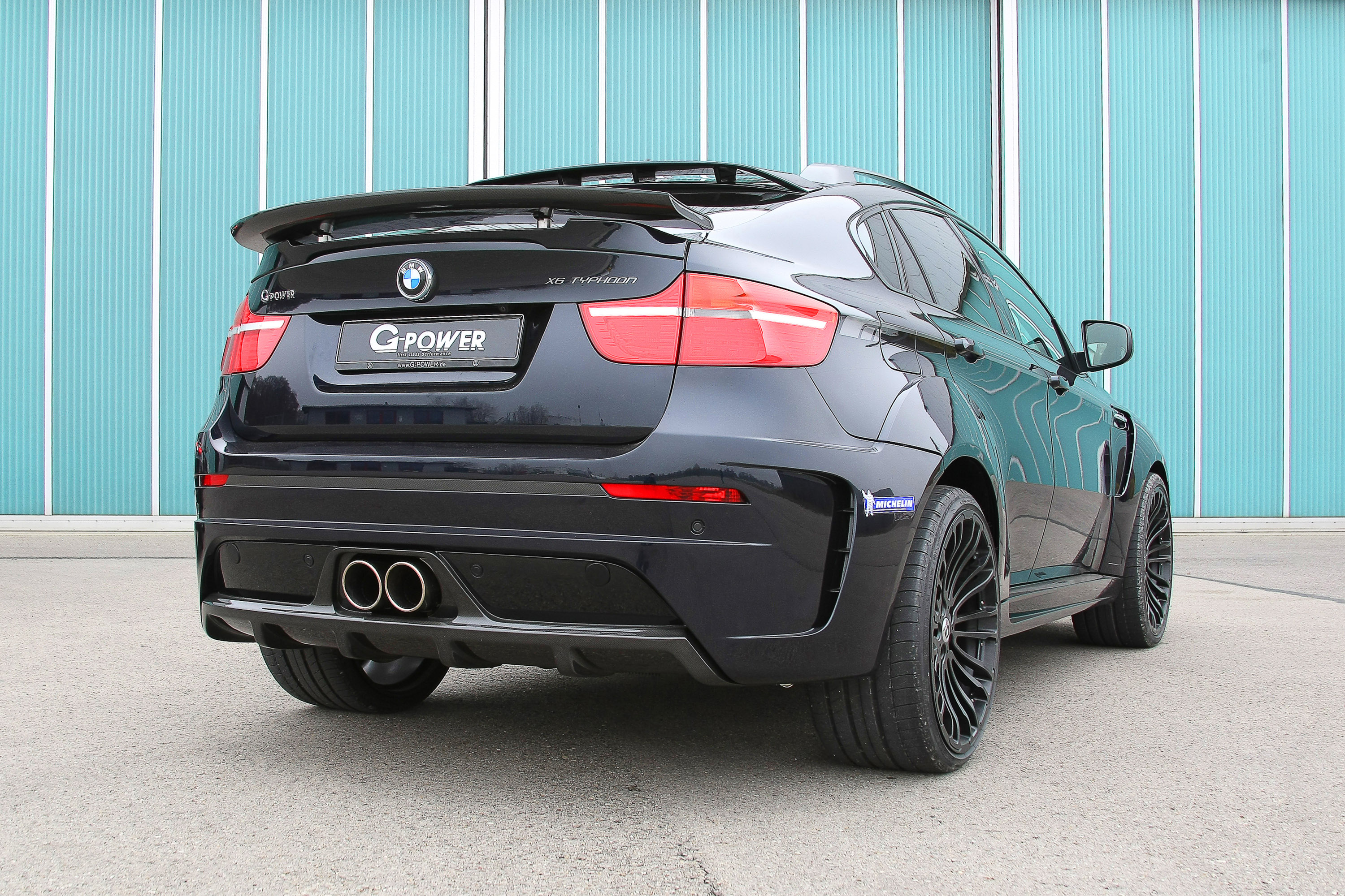 g power bmw x6 m typhoon wide body. Black Bedroom Furniture Sets. Home Design Ideas