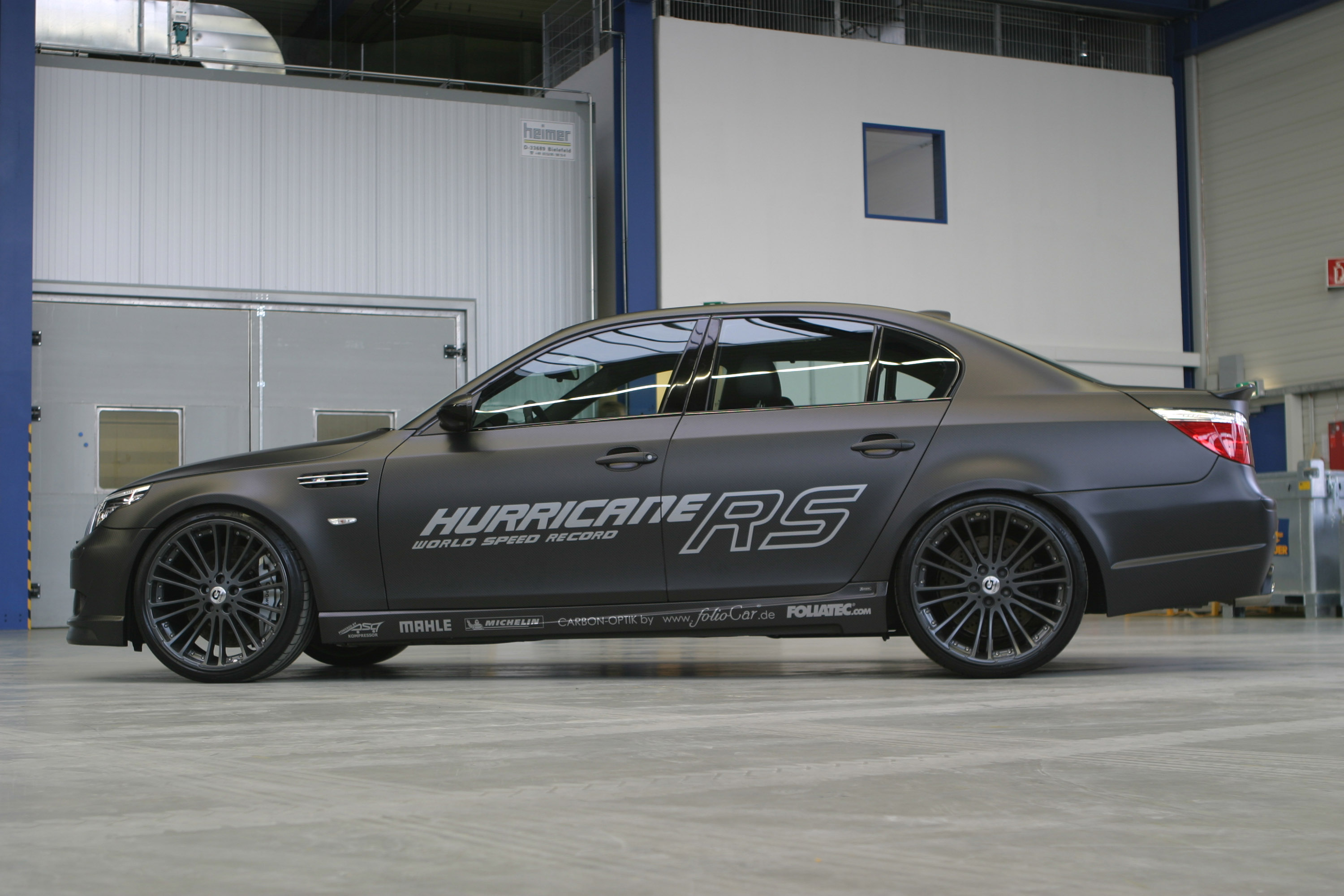 G Power Hurricane Rs Bmw M5 Touring 359 Km H Video