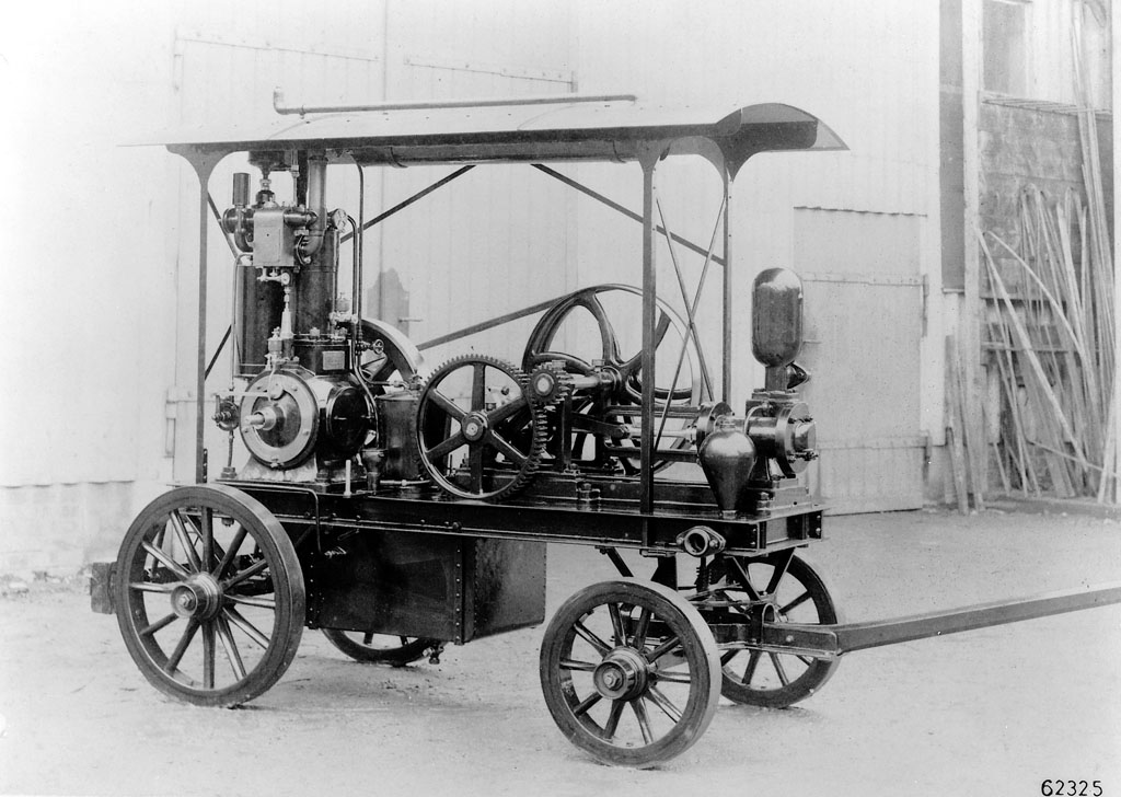 1888  Gottlieb Daimler Files Patent Application For First Gasoline
