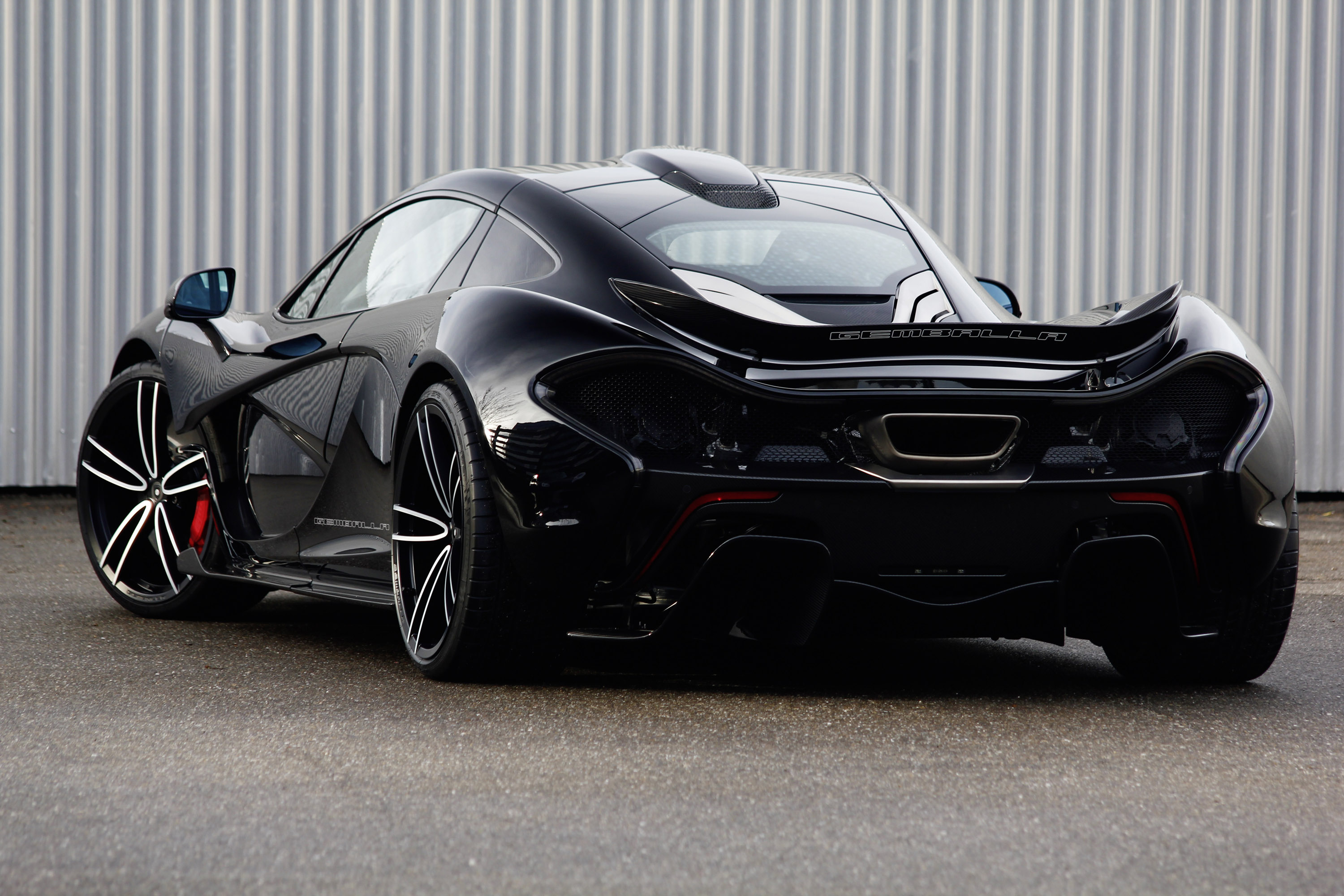 Gemballa With The First Ever Wheels For The Mclaren P1