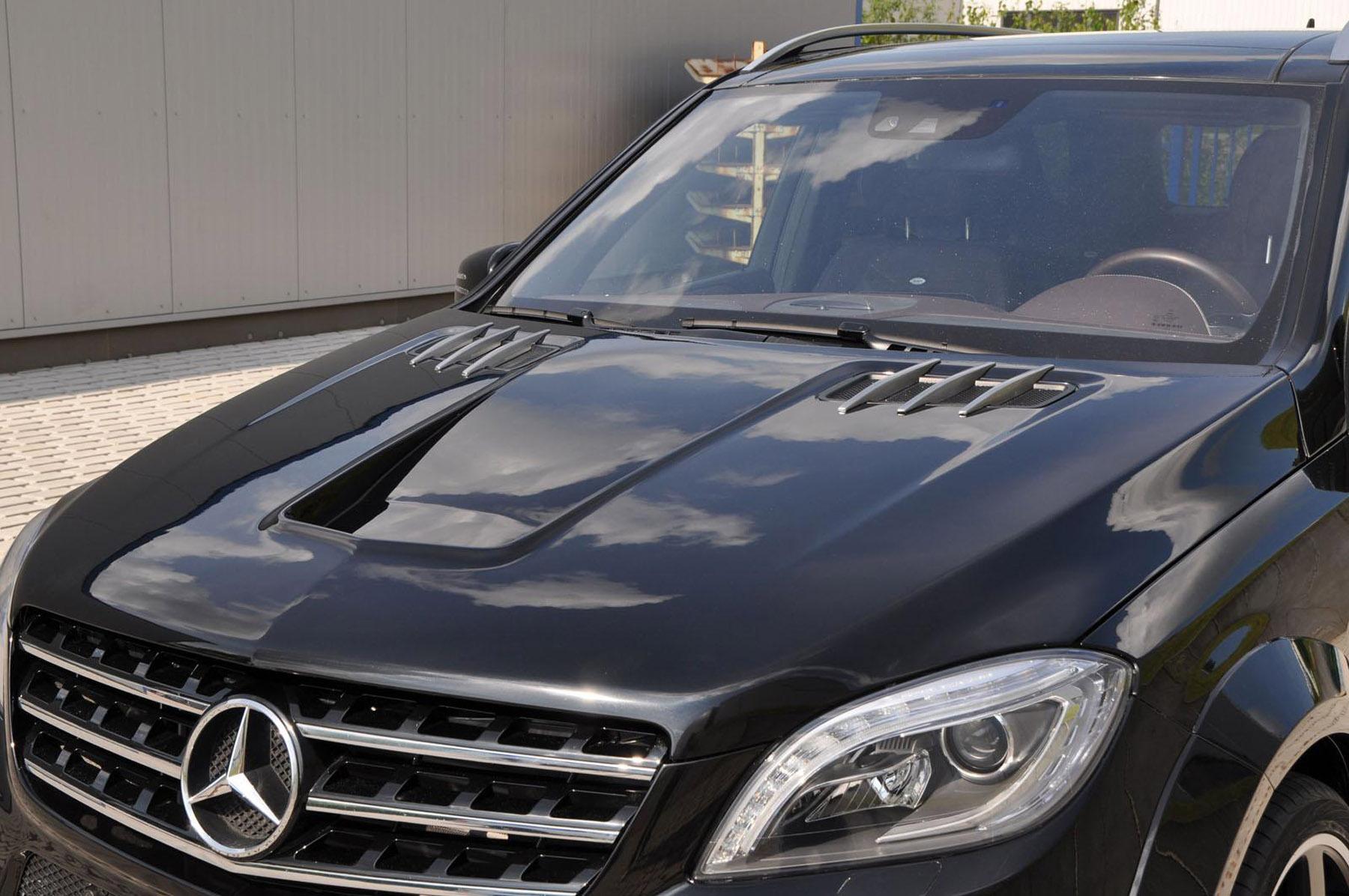 German Special Customs 2013 Mercedes Benz Ml Widebody Kit