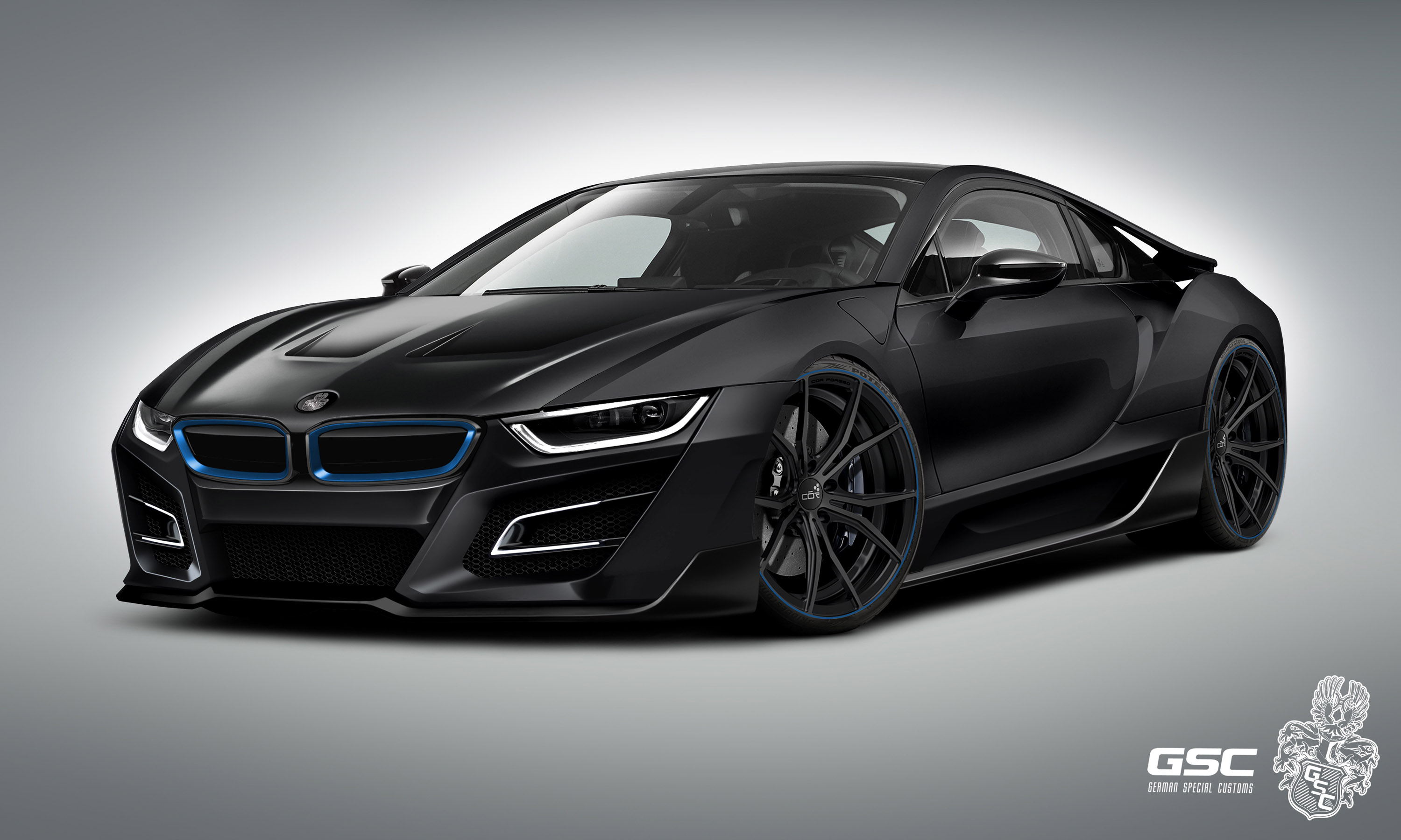 german special customs previews the bmw i8 itron. Black Bedroom Furniture Sets. Home Design Ideas
