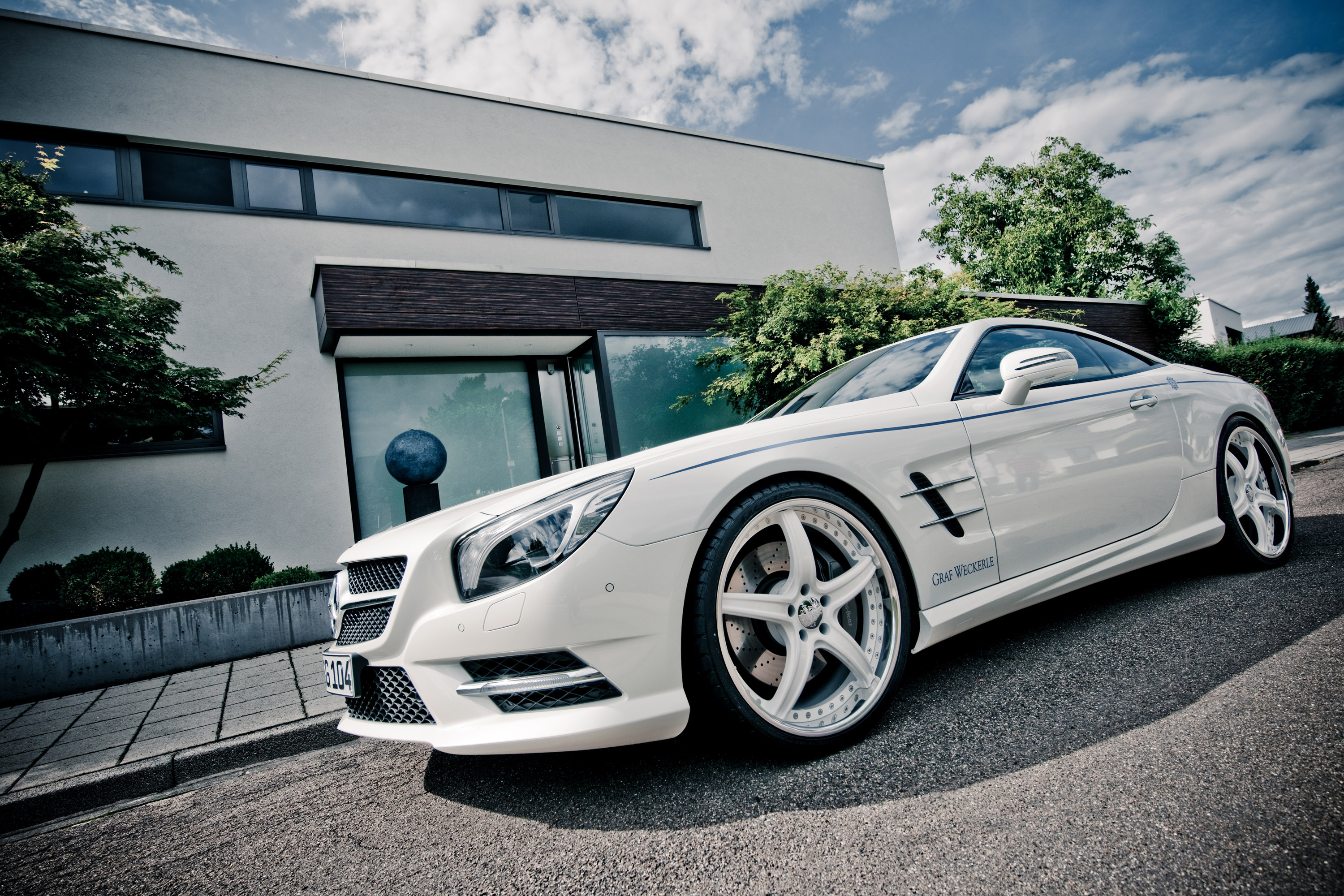 2012 graf weckerle mercedes benz sl 500 athletic for Mercedes benz of seattle