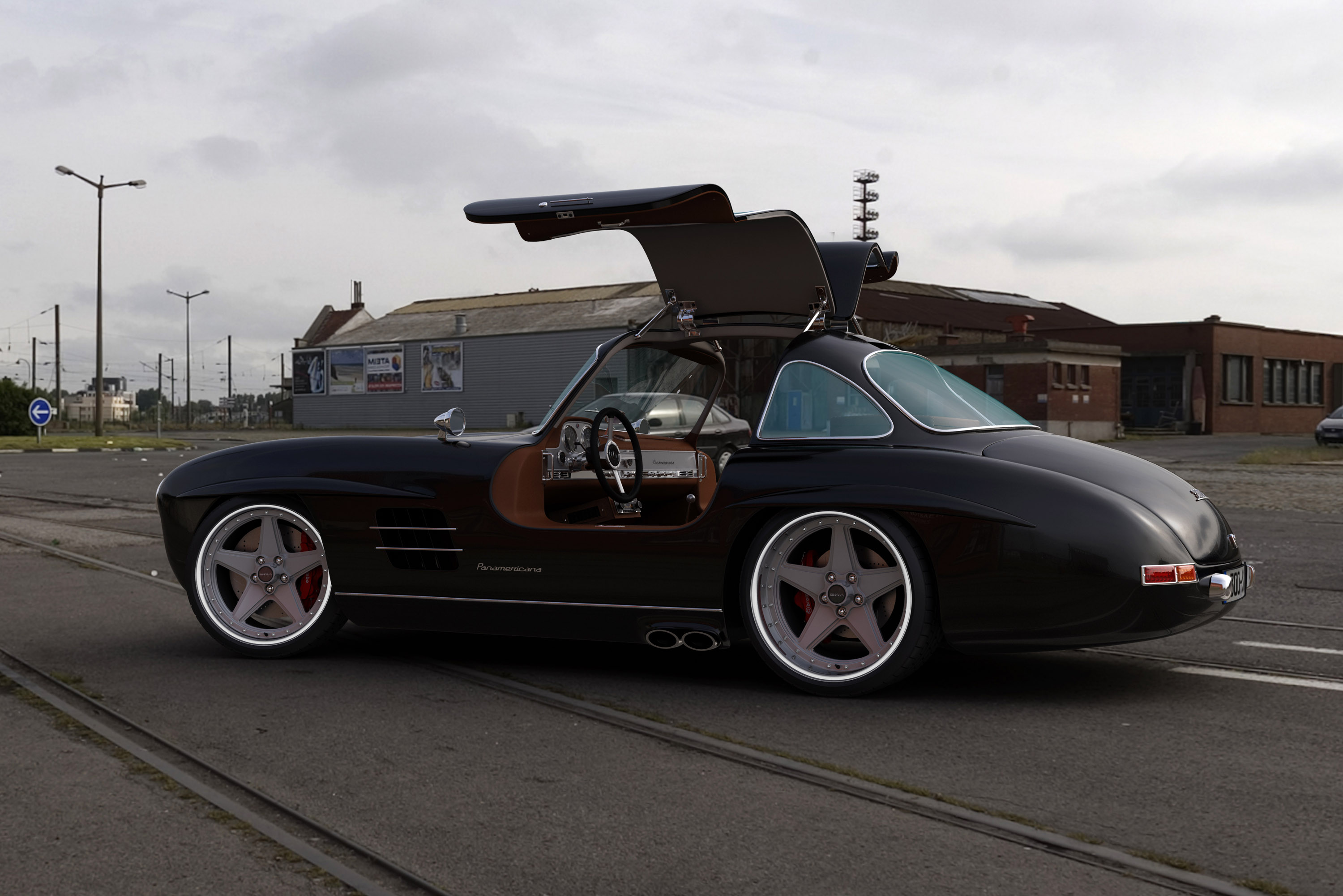 Mercedes Benz 300sl Gullwing Replica