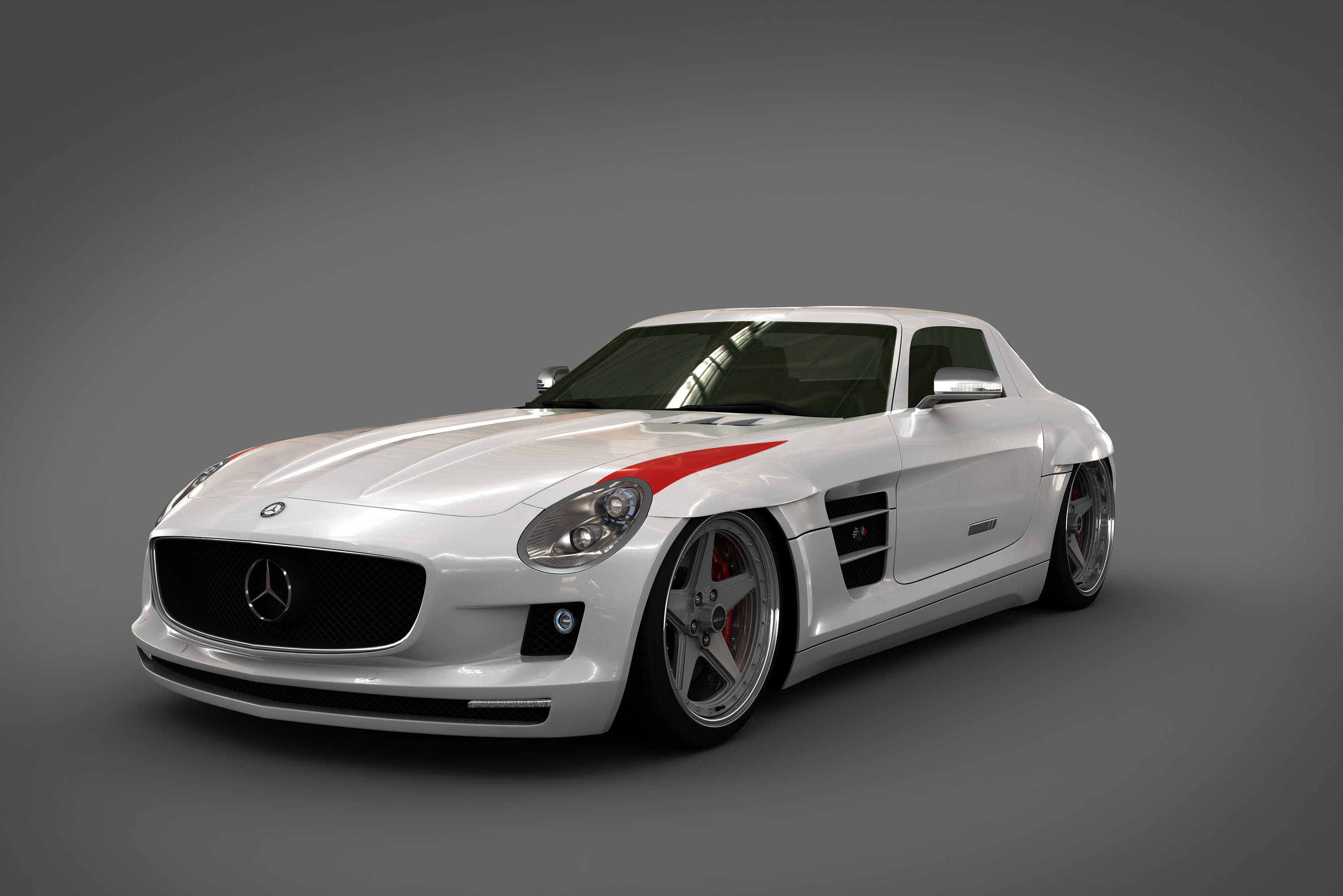 Sls Black Series >> GWA Panamericana styling kit for the 2010 Mercedes-Benz SLS