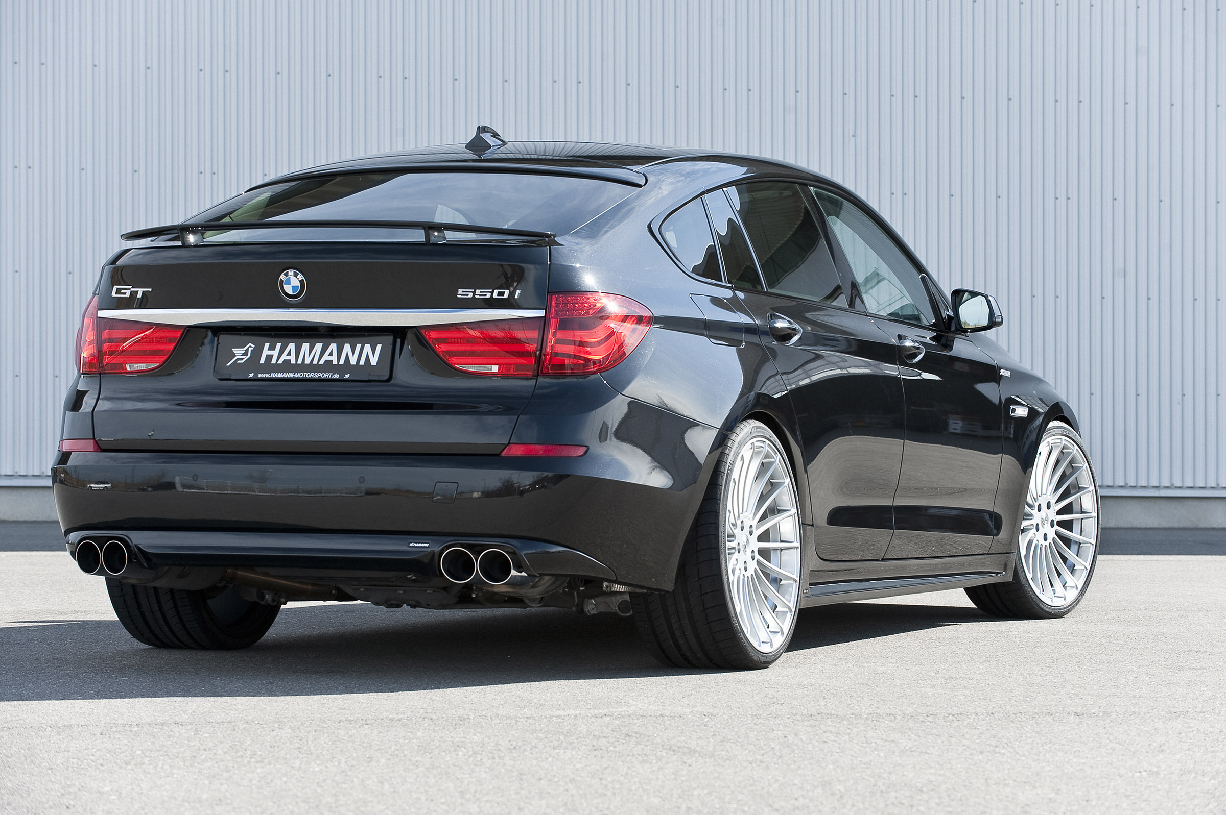 hamann bmw 5 series gran turismo picture 37356. Black Bedroom Furniture Sets. Home Design Ideas