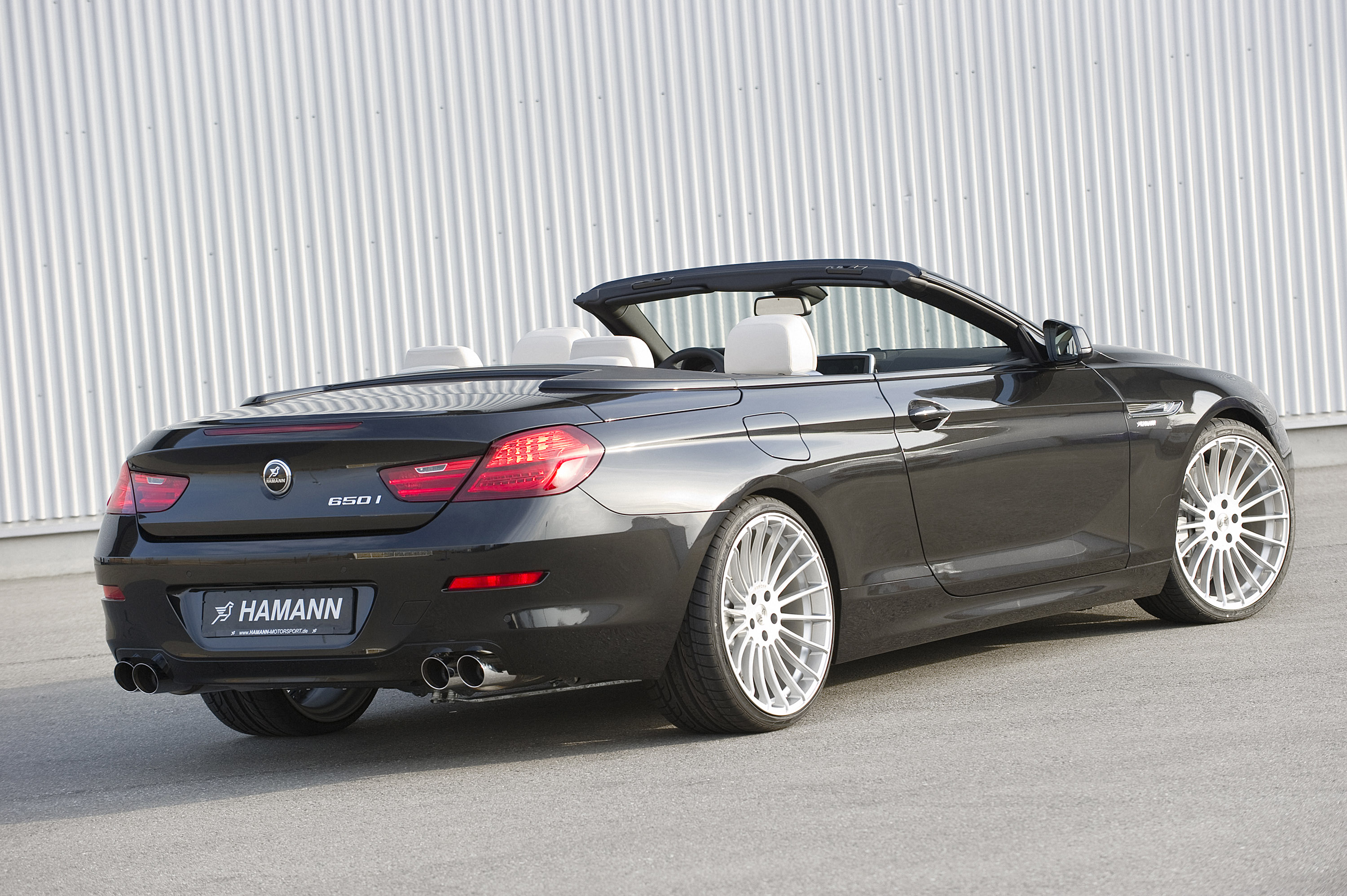 hamann bmw 6 series cabrio f12. Black Bedroom Furniture Sets. Home Design Ideas