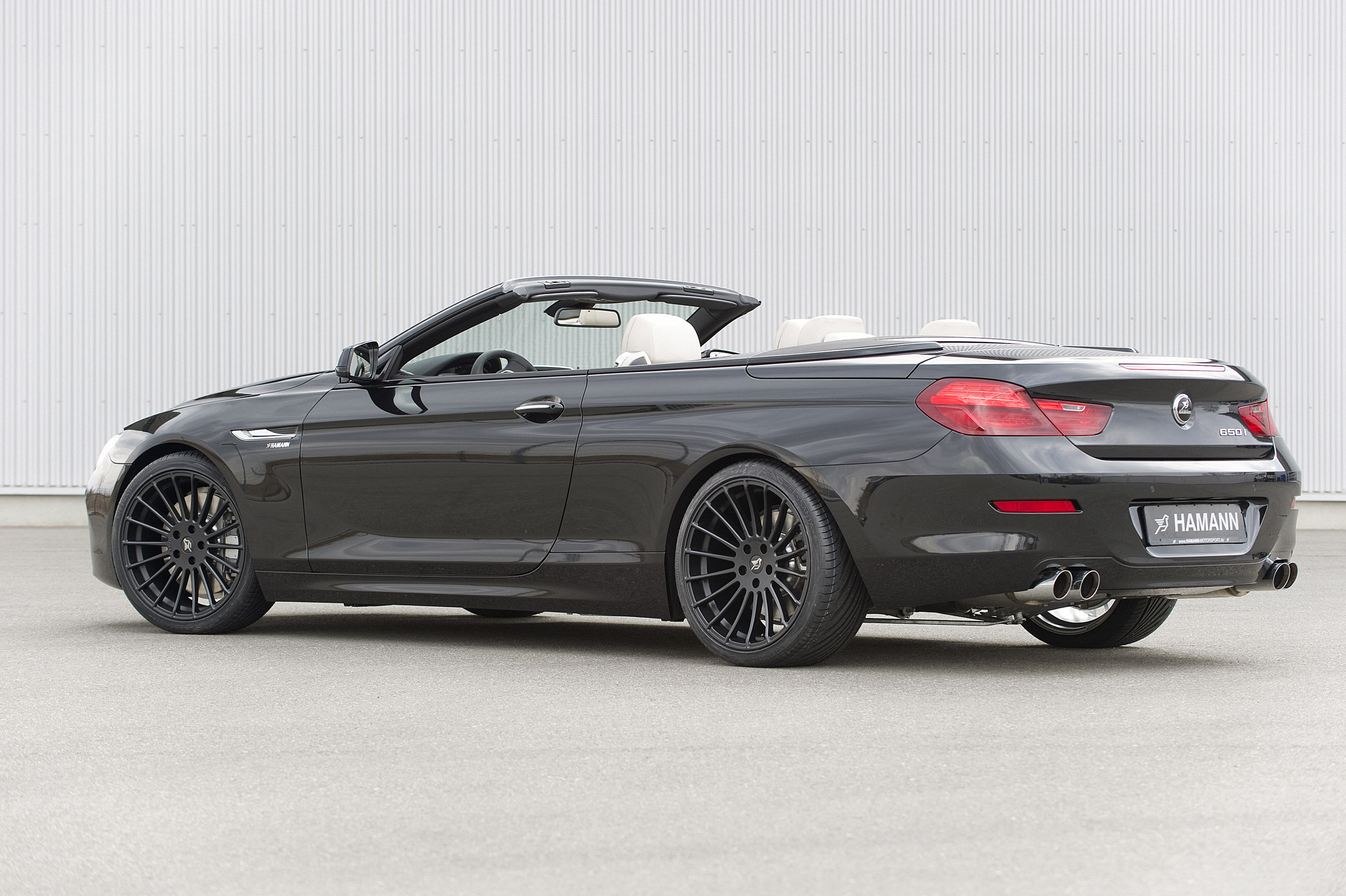 hamann bmw 6 series cabrio f12 picture 55920. Black Bedroom Furniture Sets. Home Design Ideas