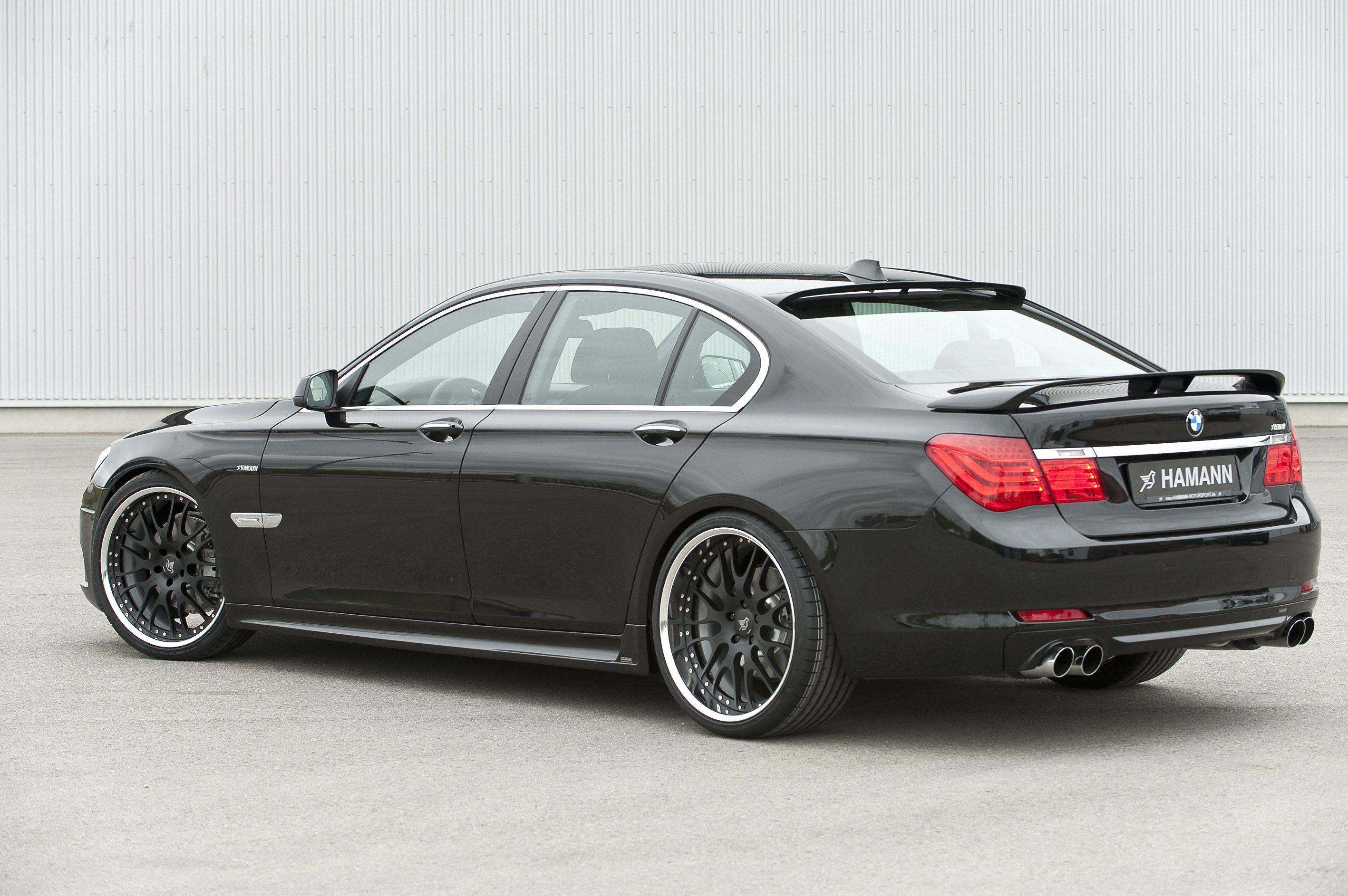 the hamann refining programme for the new bmw 7 series. Black Bedroom Furniture Sets. Home Design Ideas