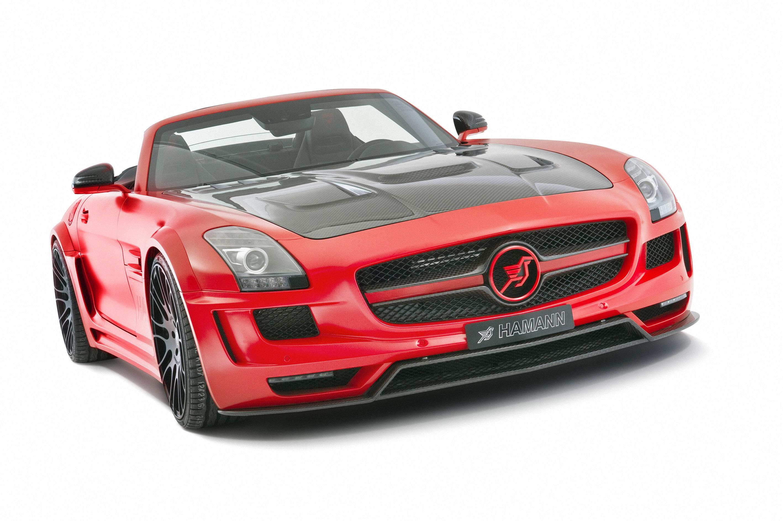 Hamann hawk amg sls roadster for Mercedes benz hamann