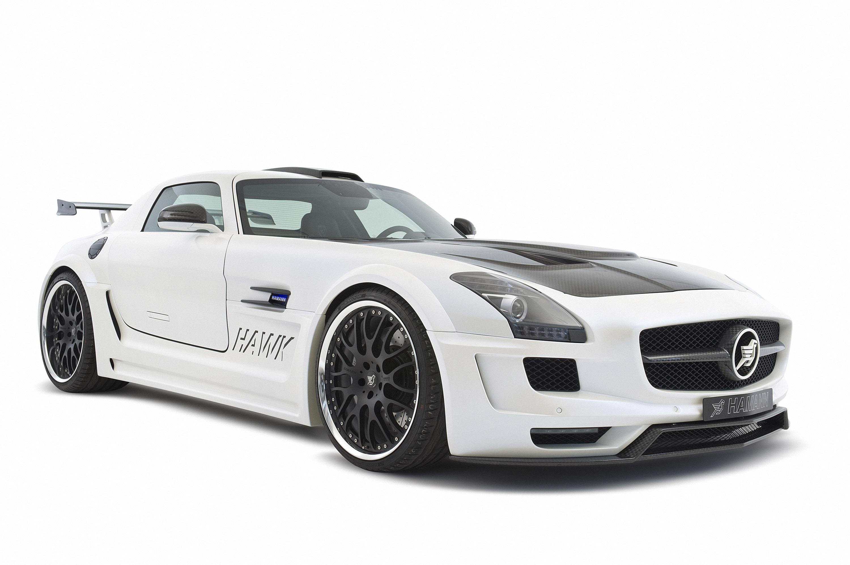 Hamann hawk mercedes sls amg white for Mercedes benz hamann
