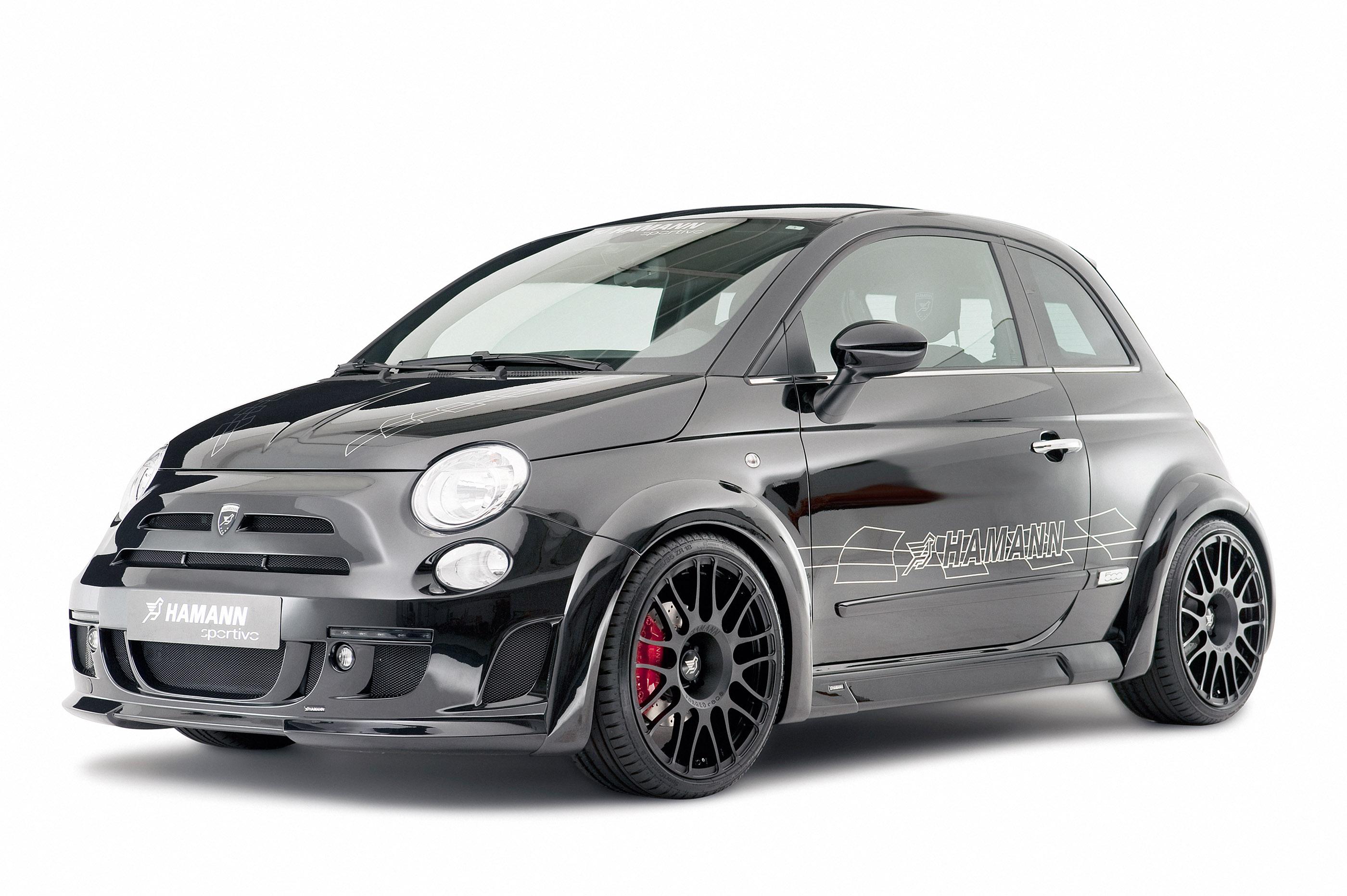 HAMANN LARGO - a Fiat 500 full of dynamism