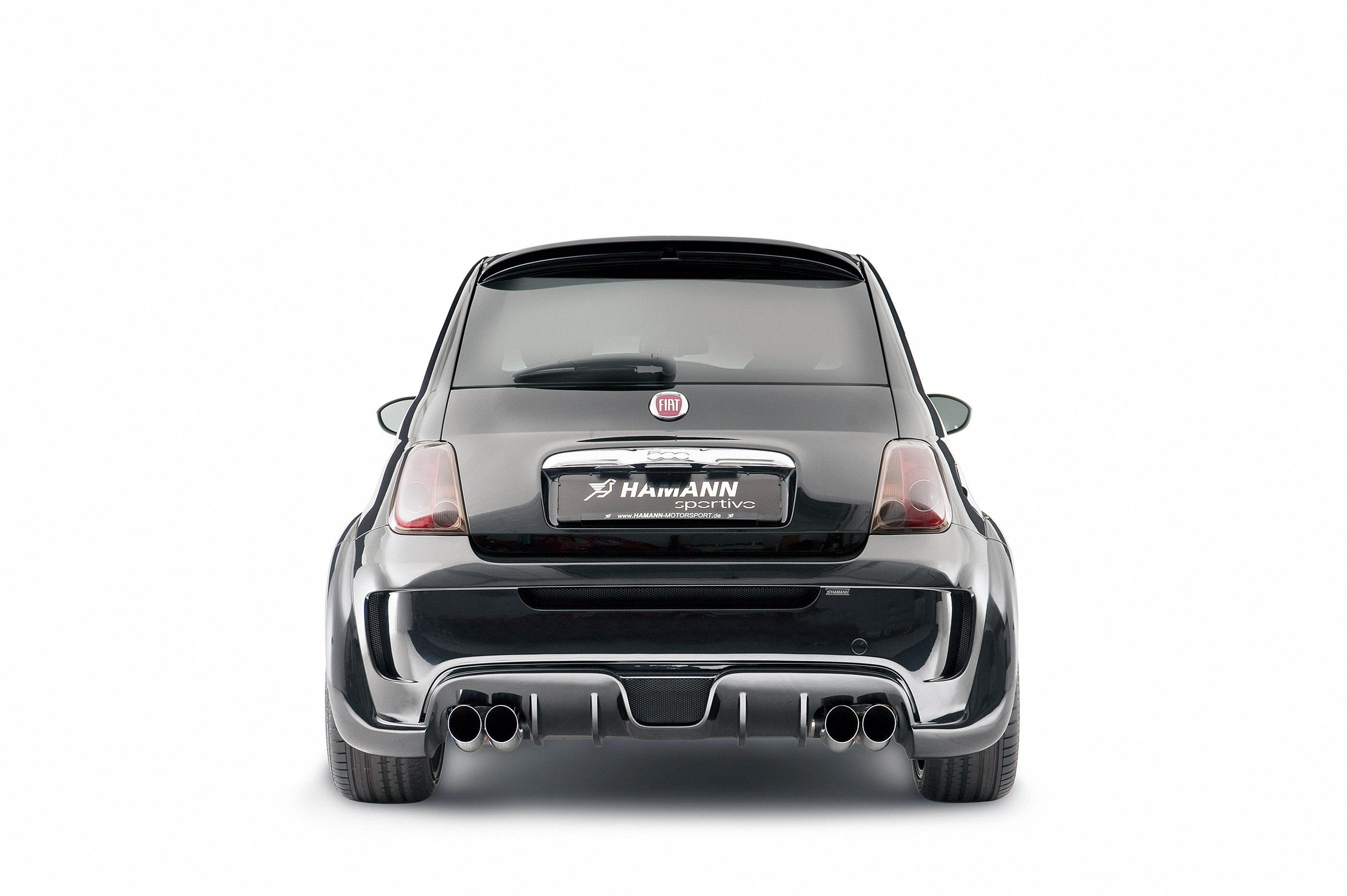 Hamann Largo A Fiat 500 Full Of Dynamism