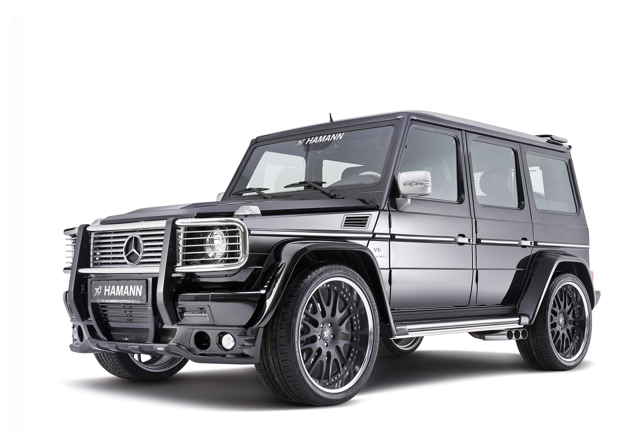 Hamann mercedes benz g55 amg typhoon for Mercedes benz hamann