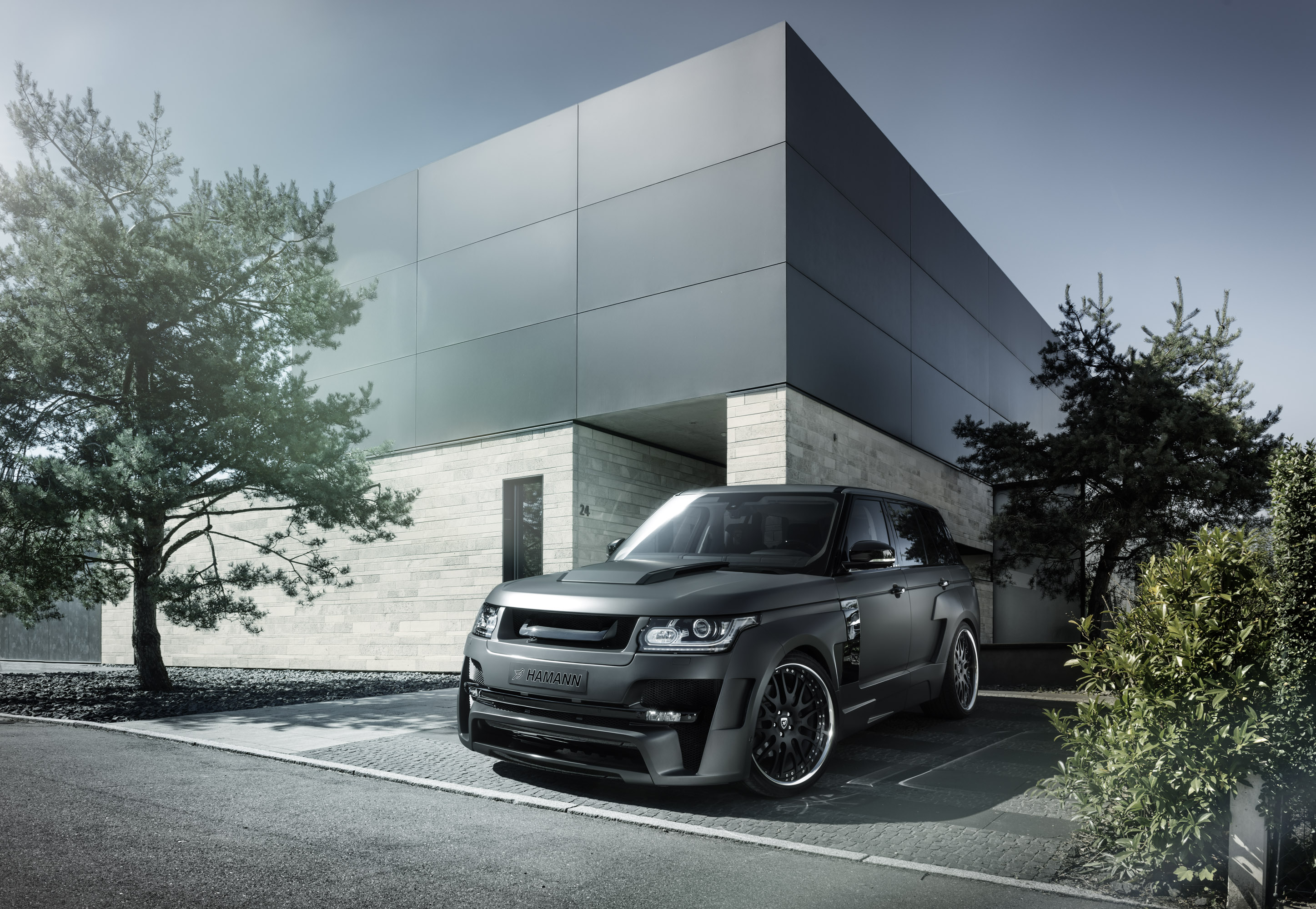 Hamann Range Rover Mystere Gets Wide Body Upgrade Video