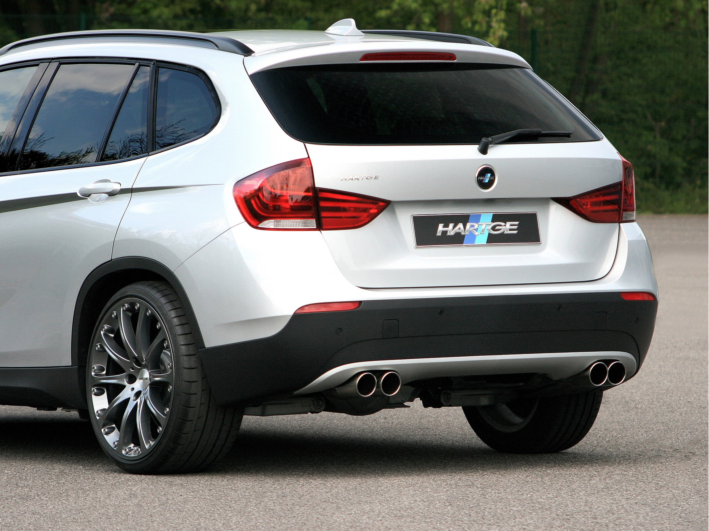 hartge with more power for the bmw x1. Black Bedroom Furniture Sets. Home Design Ideas