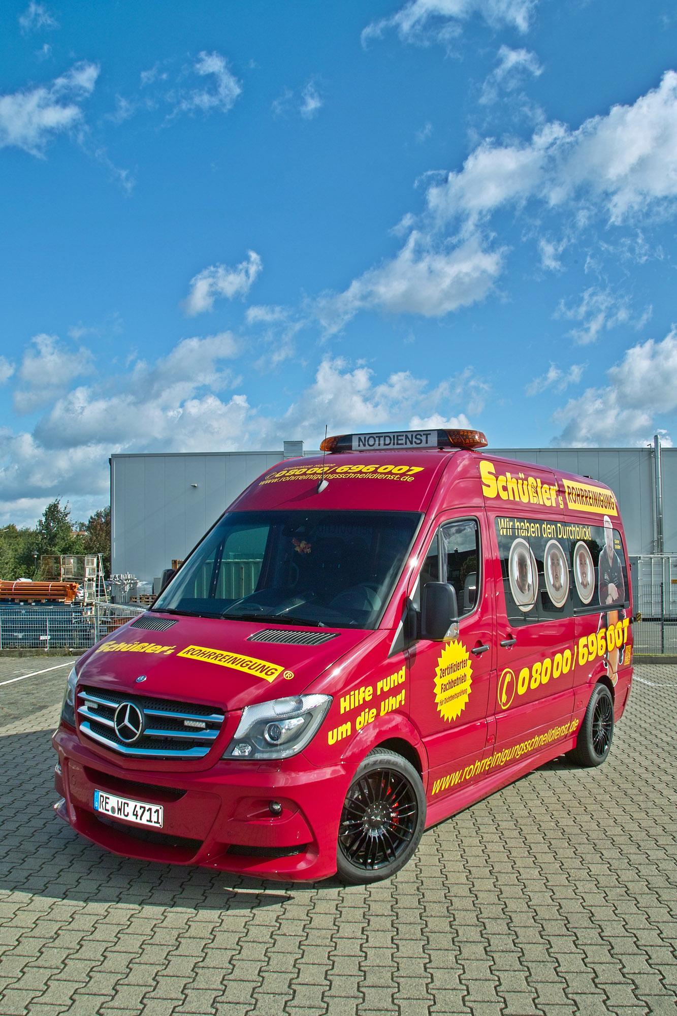 Mercedes Work Van >> Hartmann Tuning Work on Mercedes-Benz Sprinter