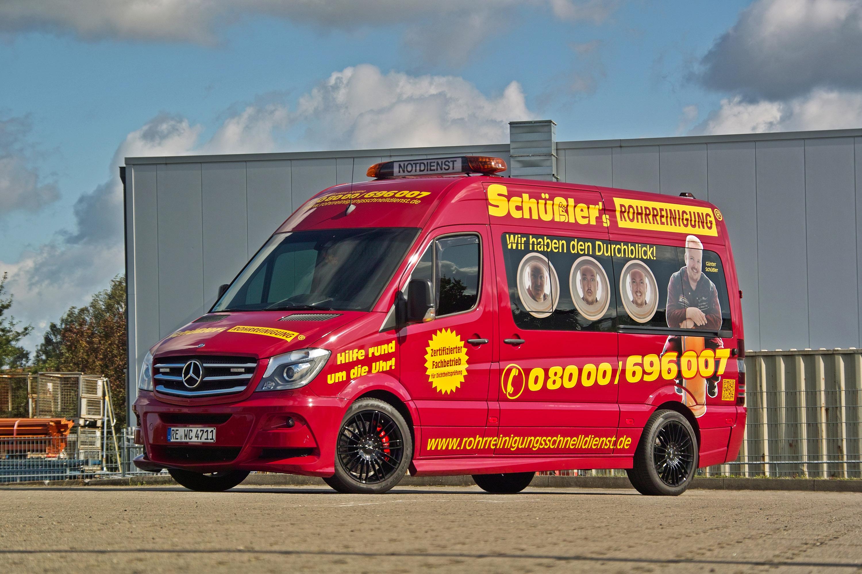 Mercedes-Sprinter: tuning, description