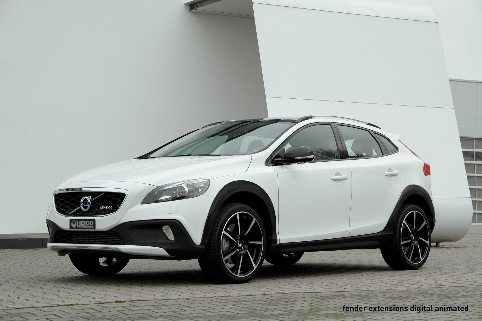 heico sportiv volvo v40 cross country. Black Bedroom Furniture Sets. Home Design Ideas