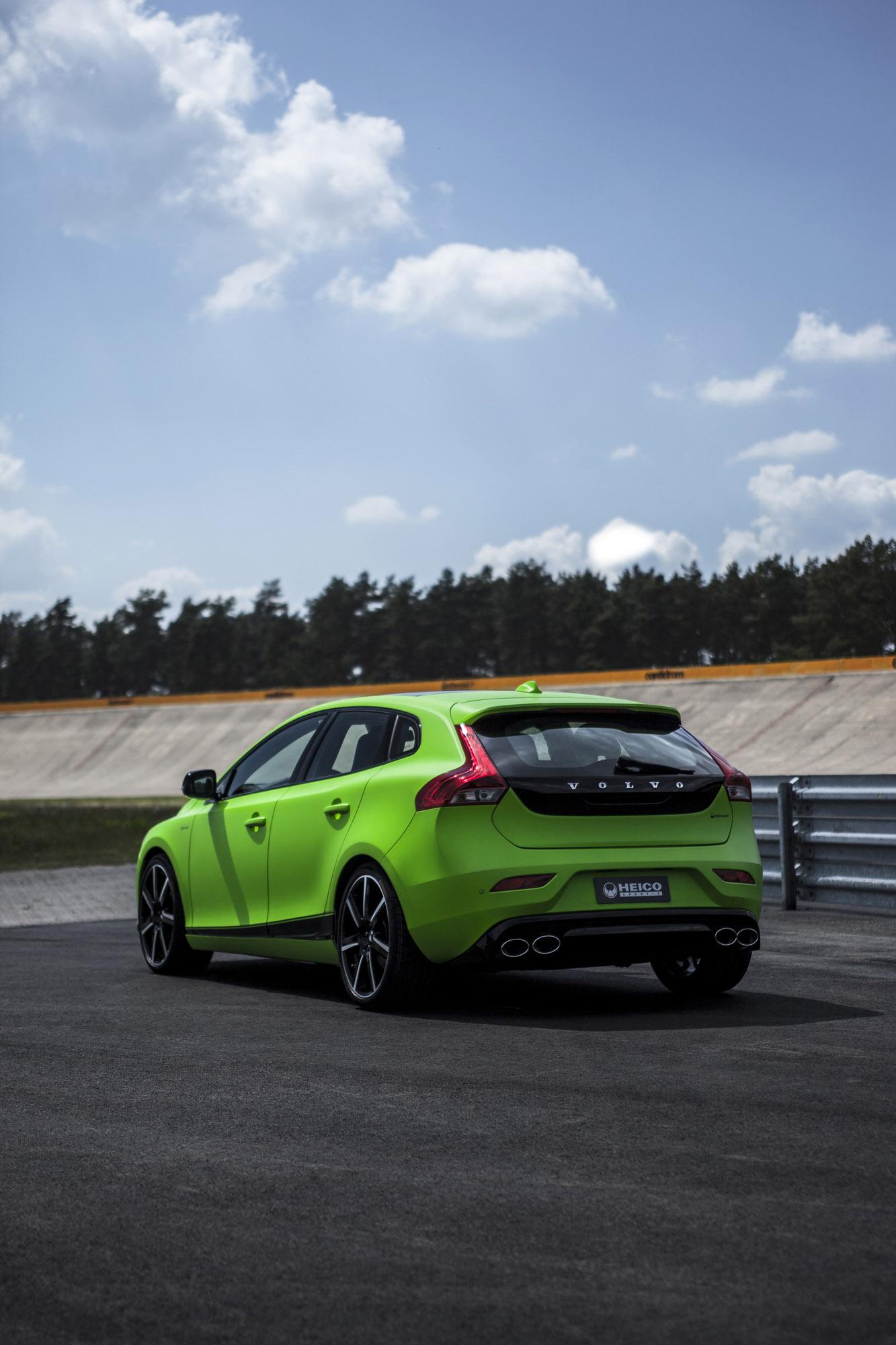 Recaro Performance Sport >> Heico Sportiv Volvo V40 T5 HPC - 350HP and 510Nm