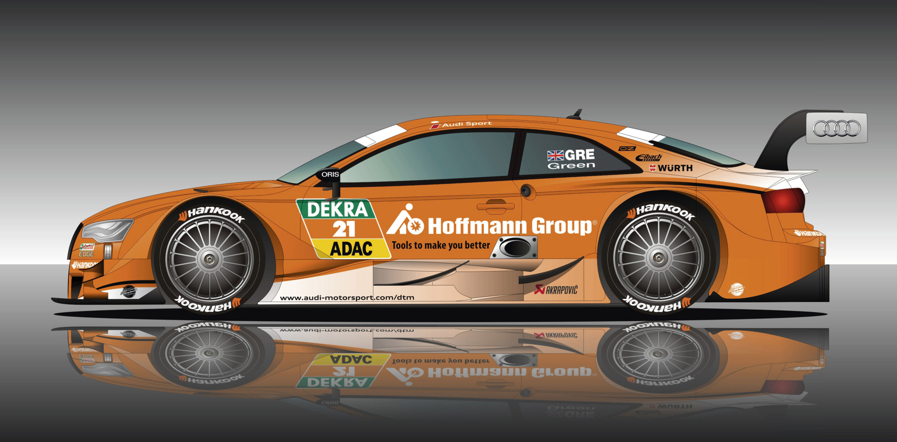 hoffmann group partners with audi for new rs5 dtm livery. Black Bedroom Furniture Sets. Home Design Ideas