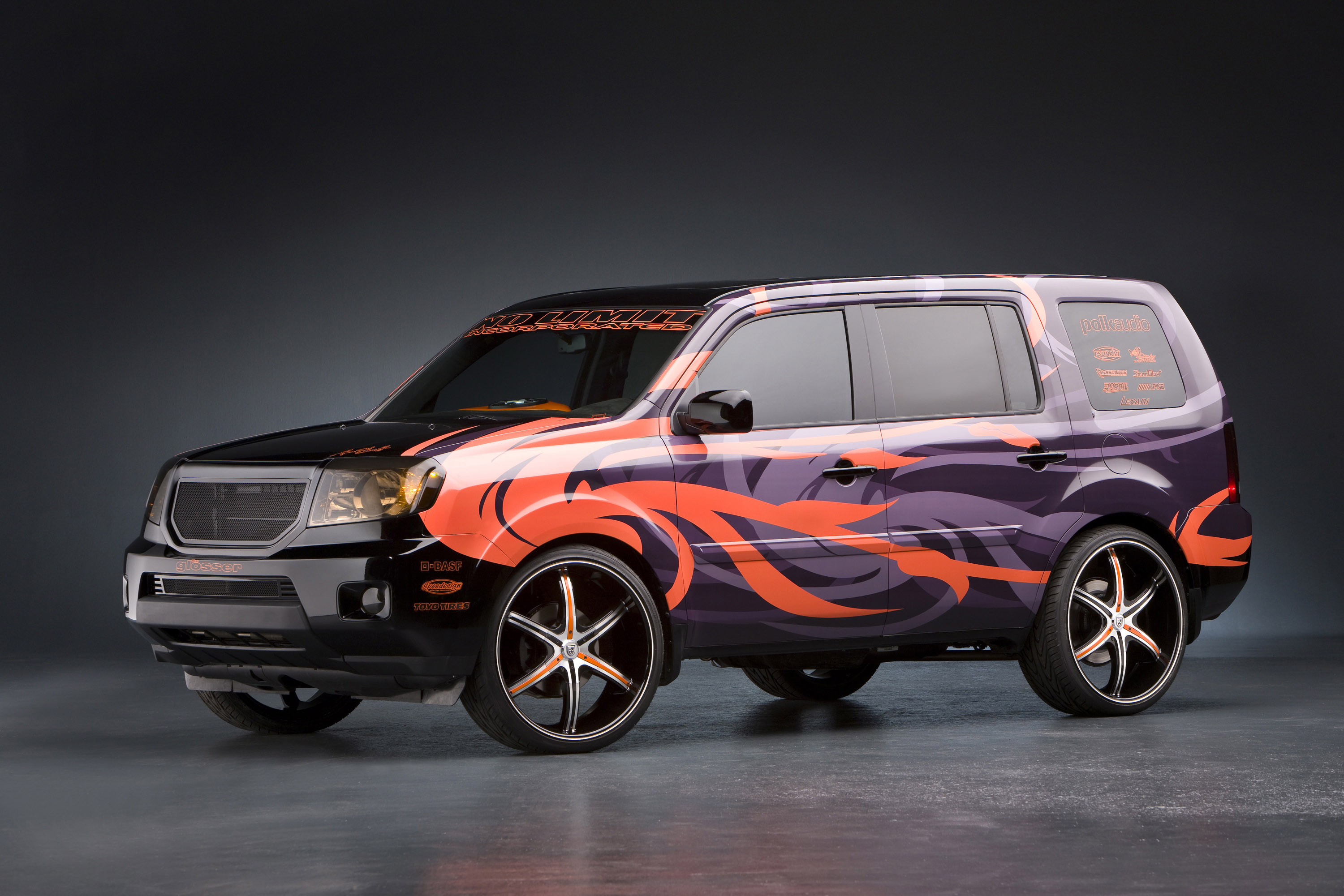 Honda Reveals Accessory Concepts For Civic And Ridgeline