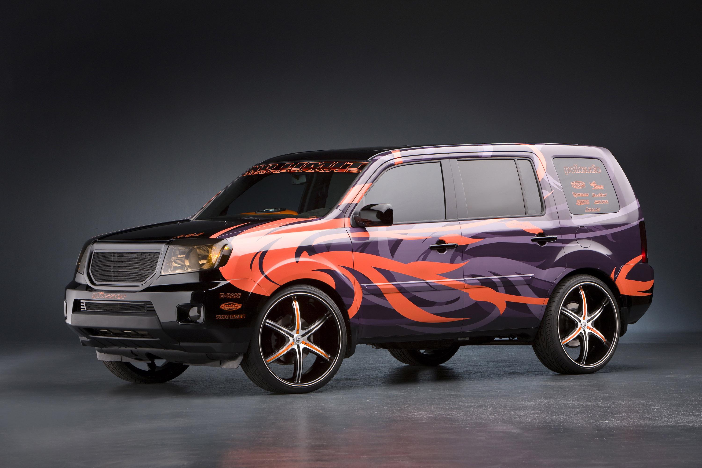 Honda Civic Si 2008 >> Honda Reveals Accessory Concepts for Civic and Ridgeline ...