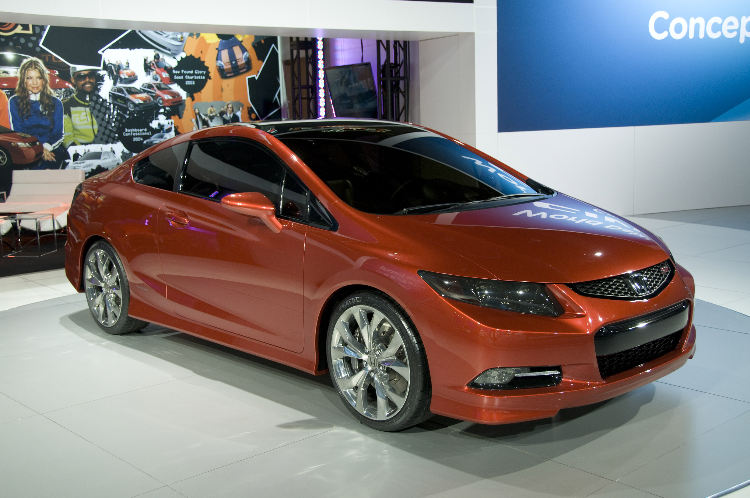 Honda Civic Coupe Concept Detroit 2011 Picture 47296