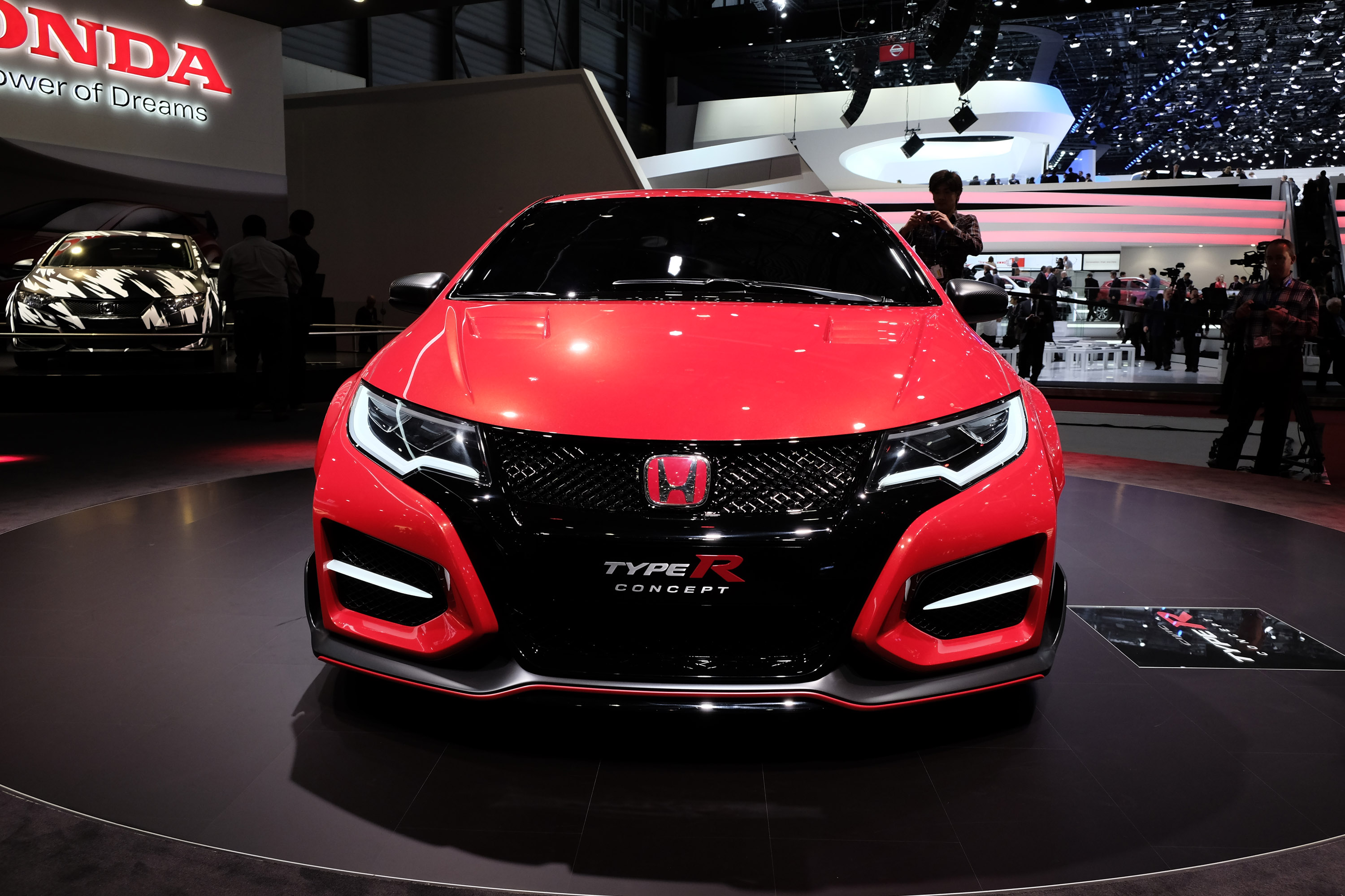 honda civic type r concept geneva 2014 picture 98990. Black Bedroom Furniture Sets. Home Design Ideas