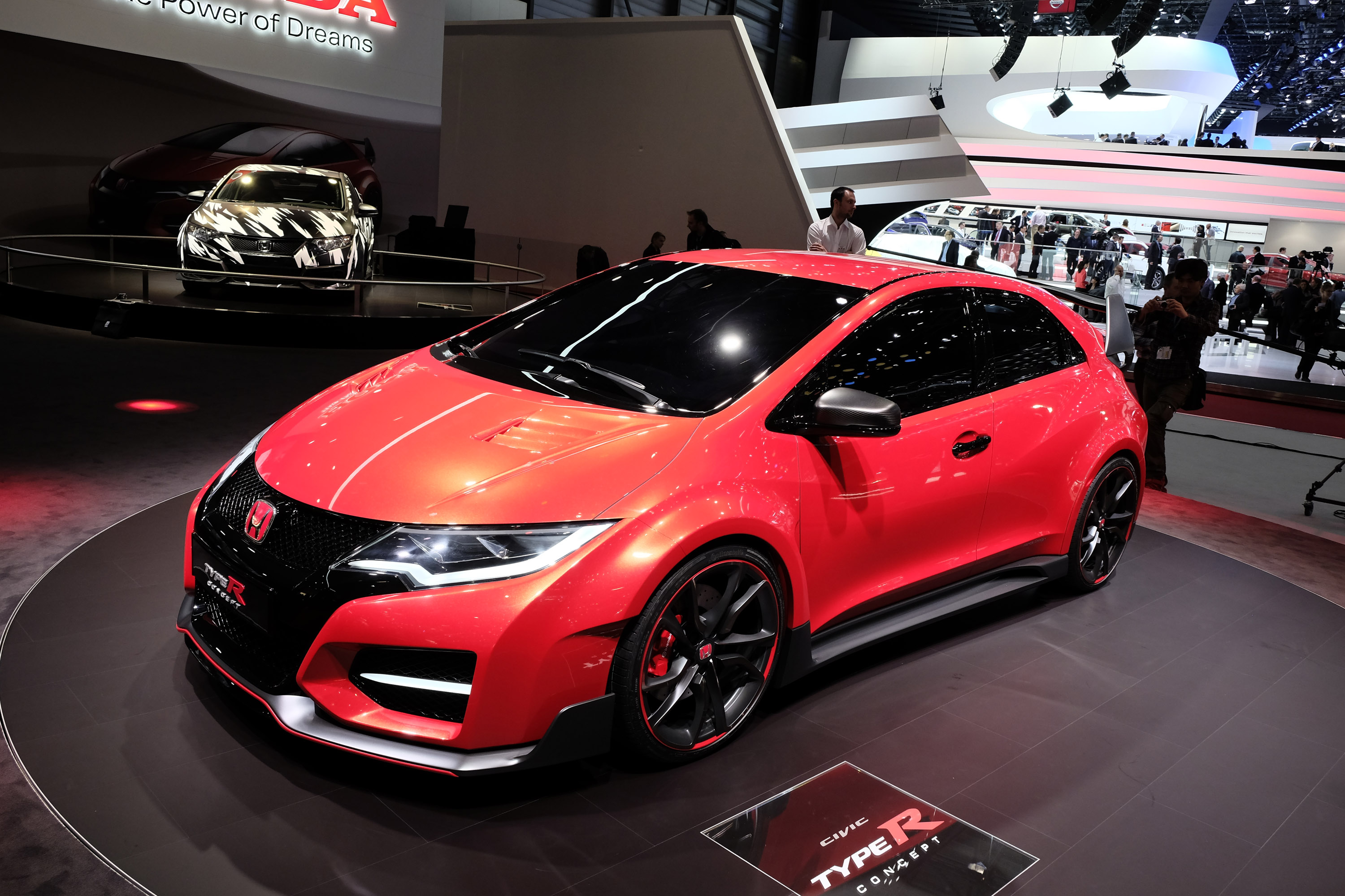 honda civic type r concept geneva 2014 picture 98992. Black Bedroom Furniture Sets. Home Design Ideas