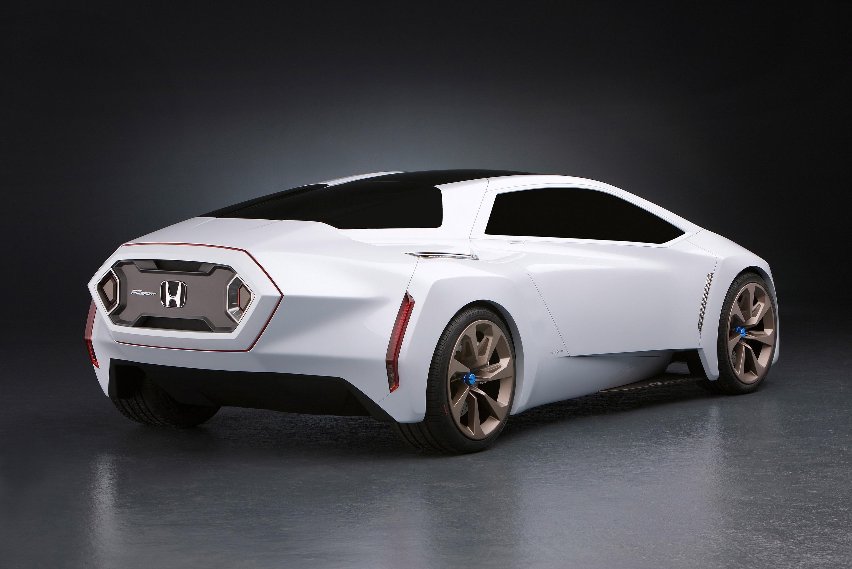 Honda Fc Sport Design Study Suggests Hydrogen Sports Car