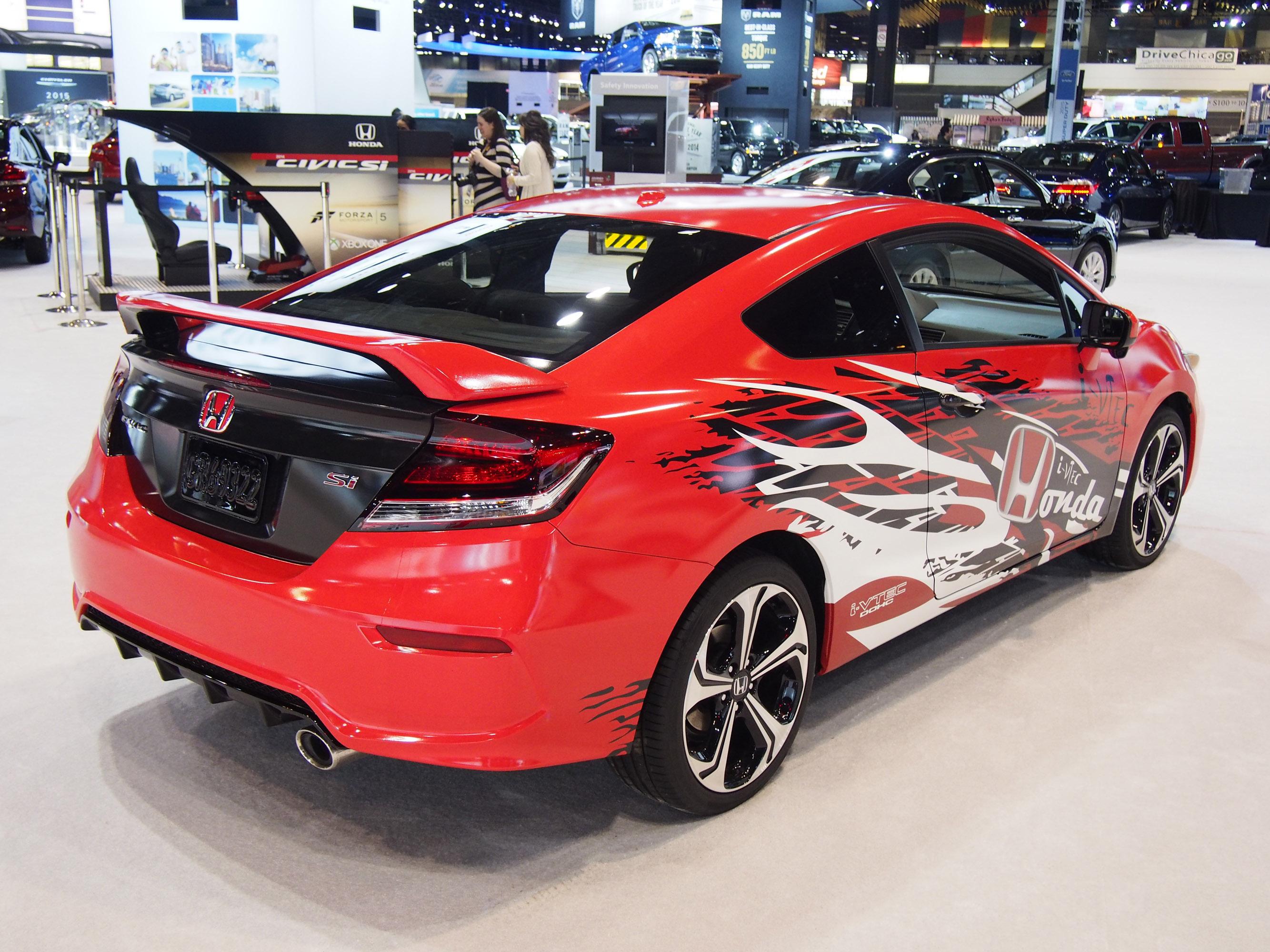 Honda Forza Motorsport Civic Si Design Winner Chicago 2014 ...