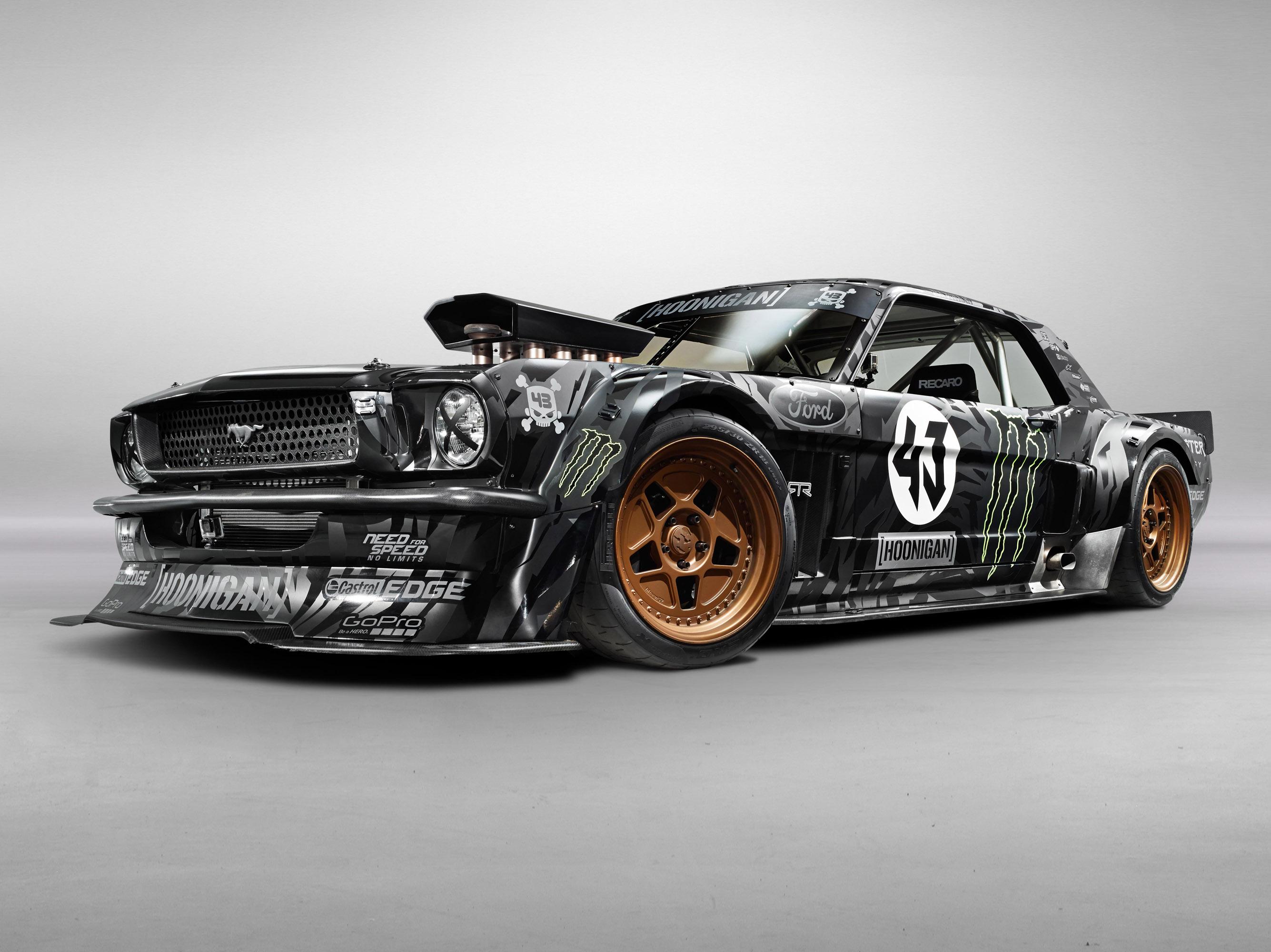 Ken Block Unveils the EXCLUSIVE Hoonigan Ford Mustang RTR