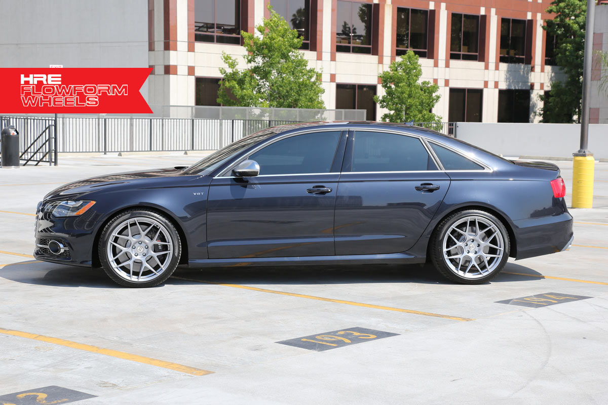 Moonlight Blue Hre Performance Wheels Audi S6