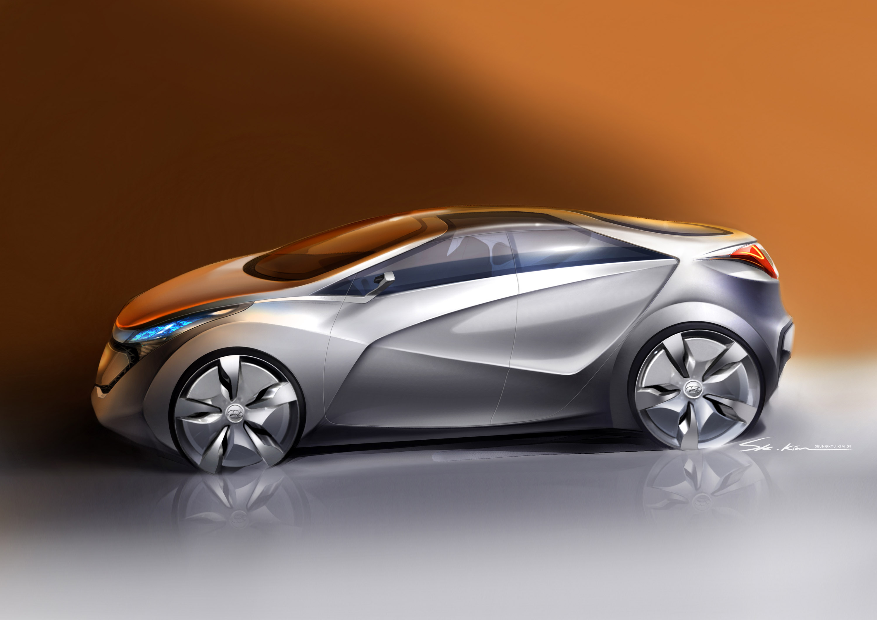 Hyundai Blue Will Concept Picture 30046
