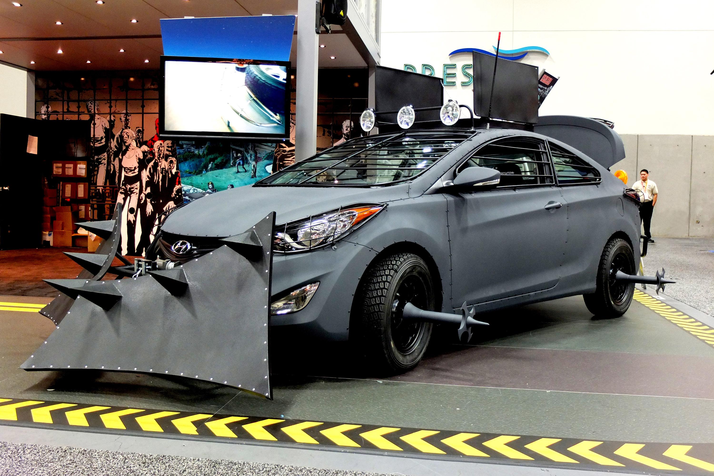 Hyundai Elantra Coupe Good For Surviving A Zombie Apocalypse