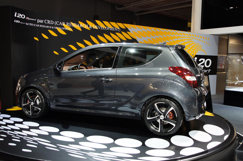 Hyundai I20 Sport Paris 2010 Picture 43232