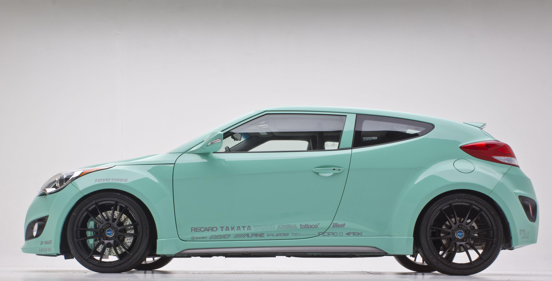 Hyundai Jp Edition Veloster Concept At The 2012 Sema