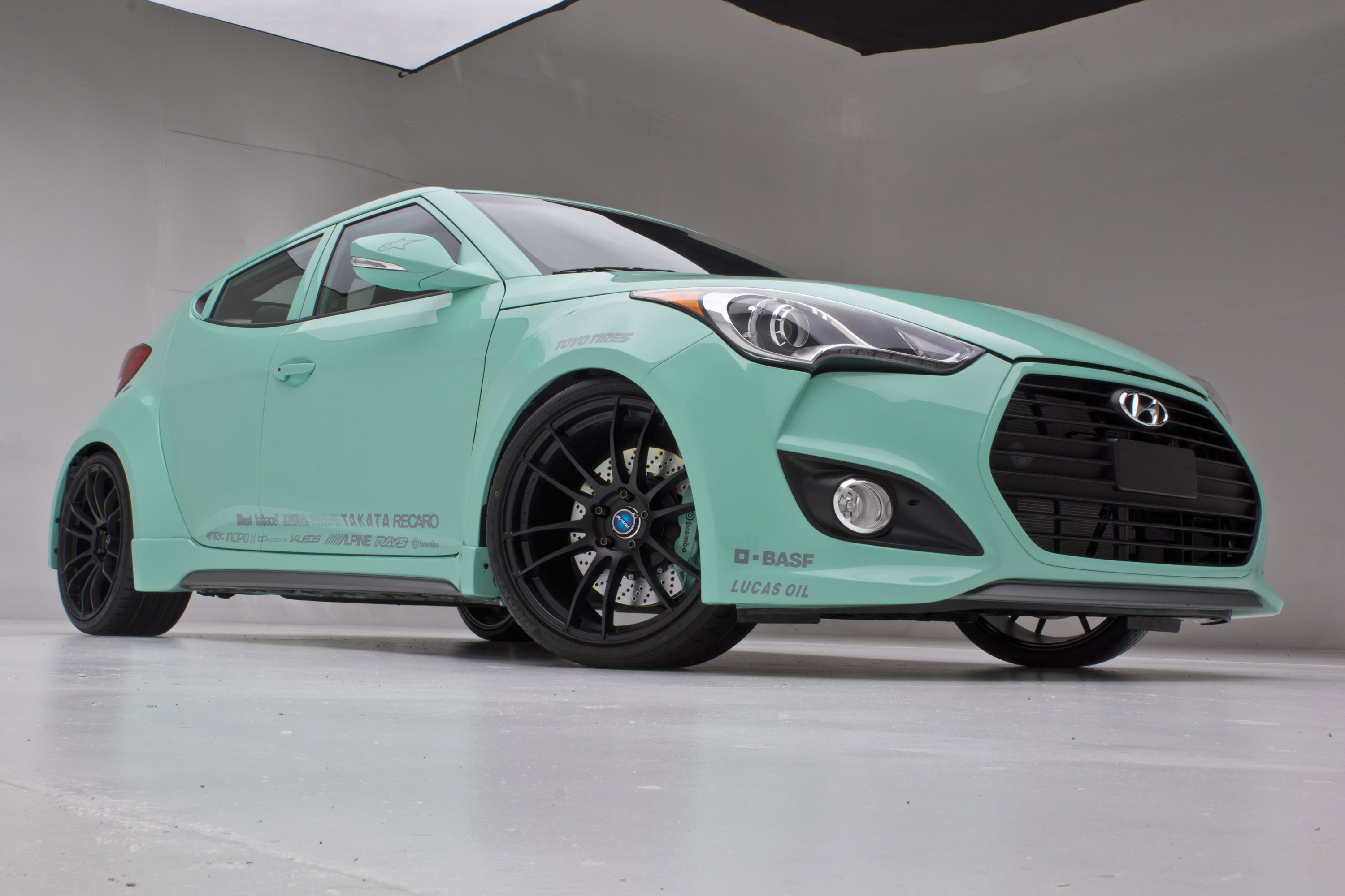 Hyundai Jp Edition Veloster Concept At The 2012 Sema