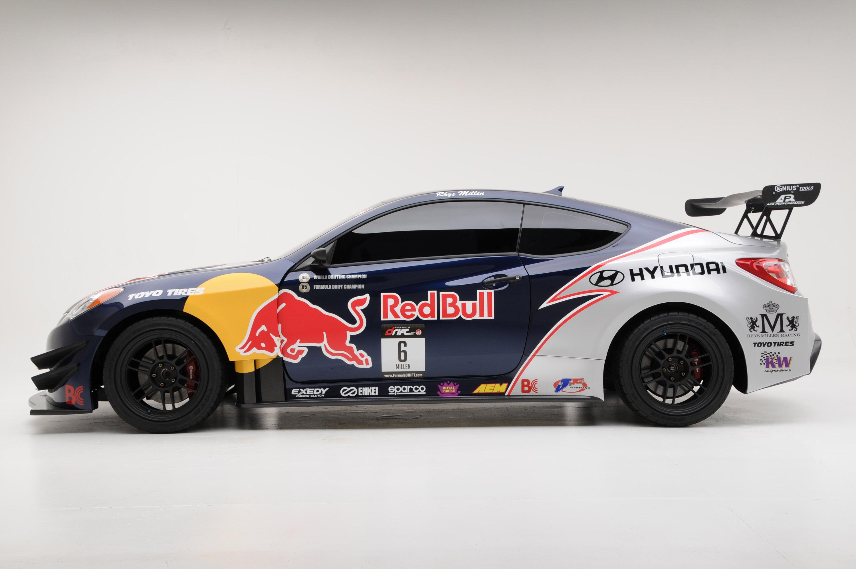 Hyundai Launches Rmr Red Bull Drift Team Sponsorship At Chicago