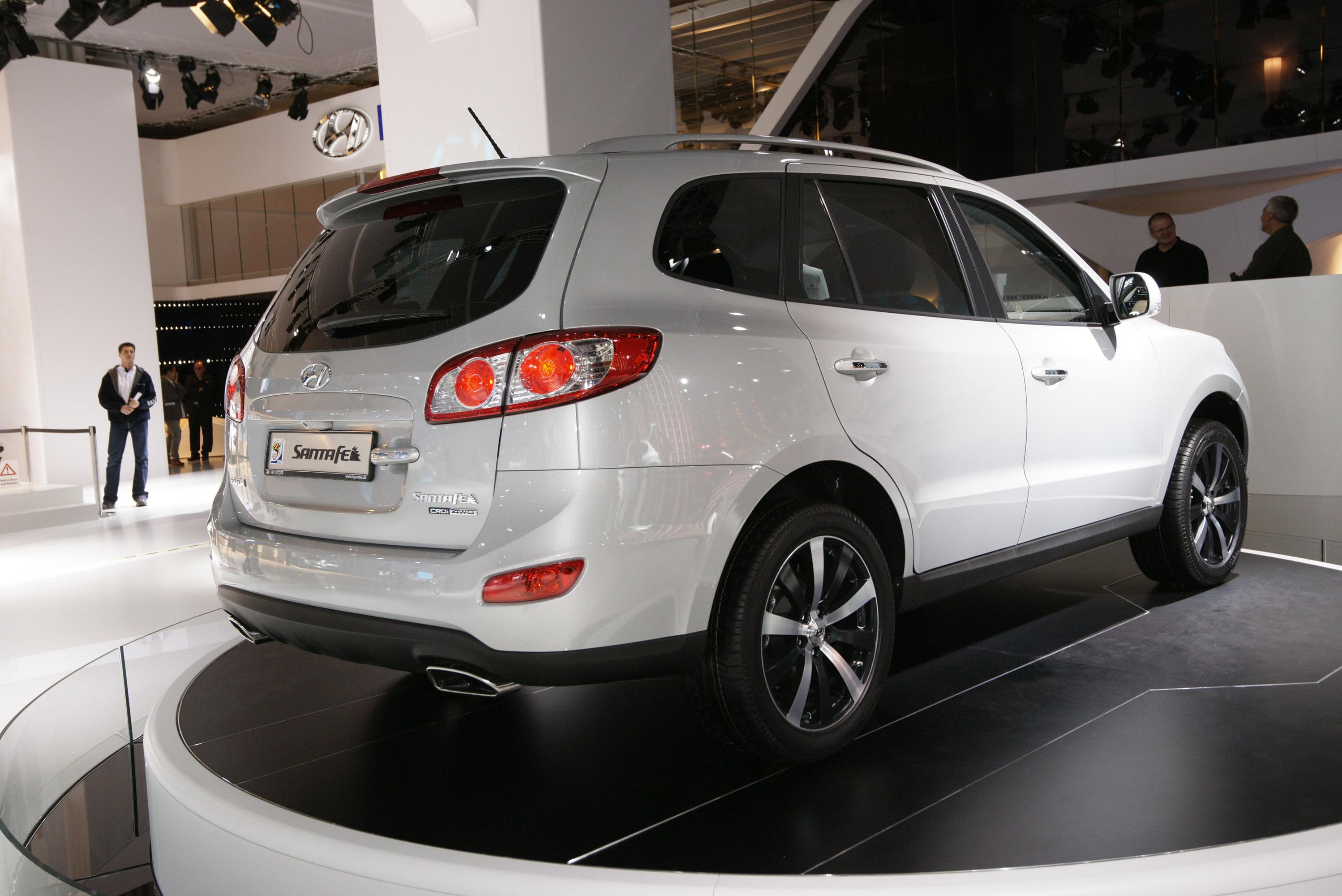 Hyundai Santa Fe Frankfurt 2011 Picture 58784