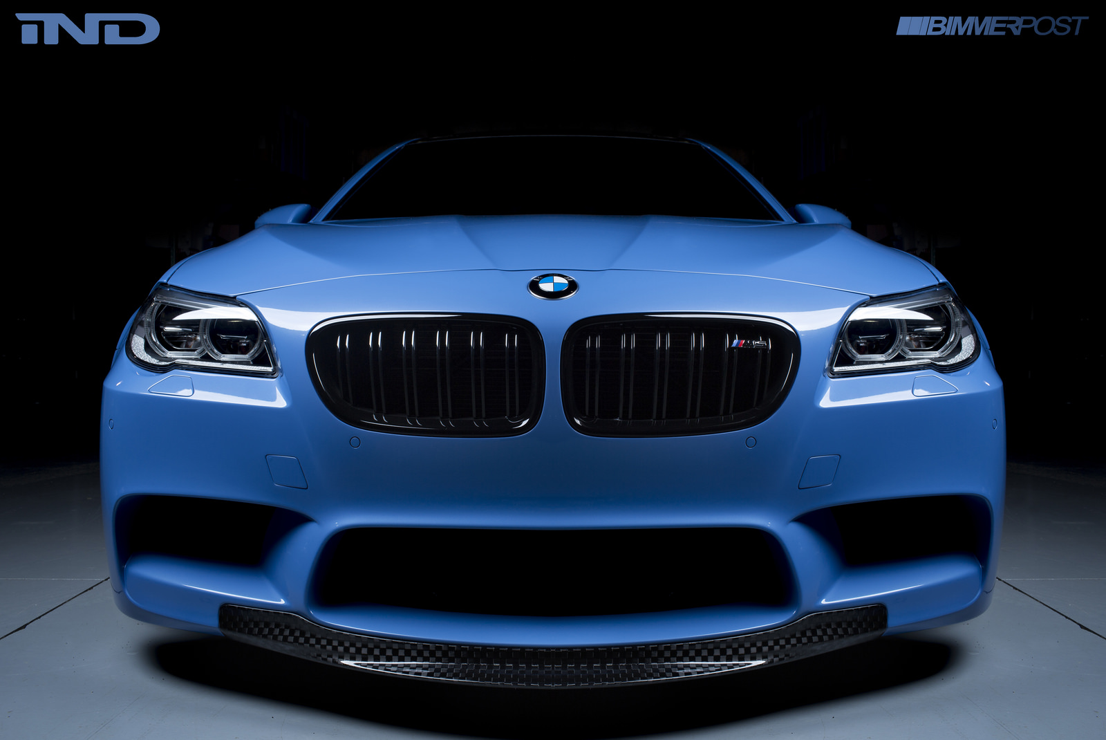 Project Blue Deluge Ind Bmw F10 M5 In Yas Marina Blue