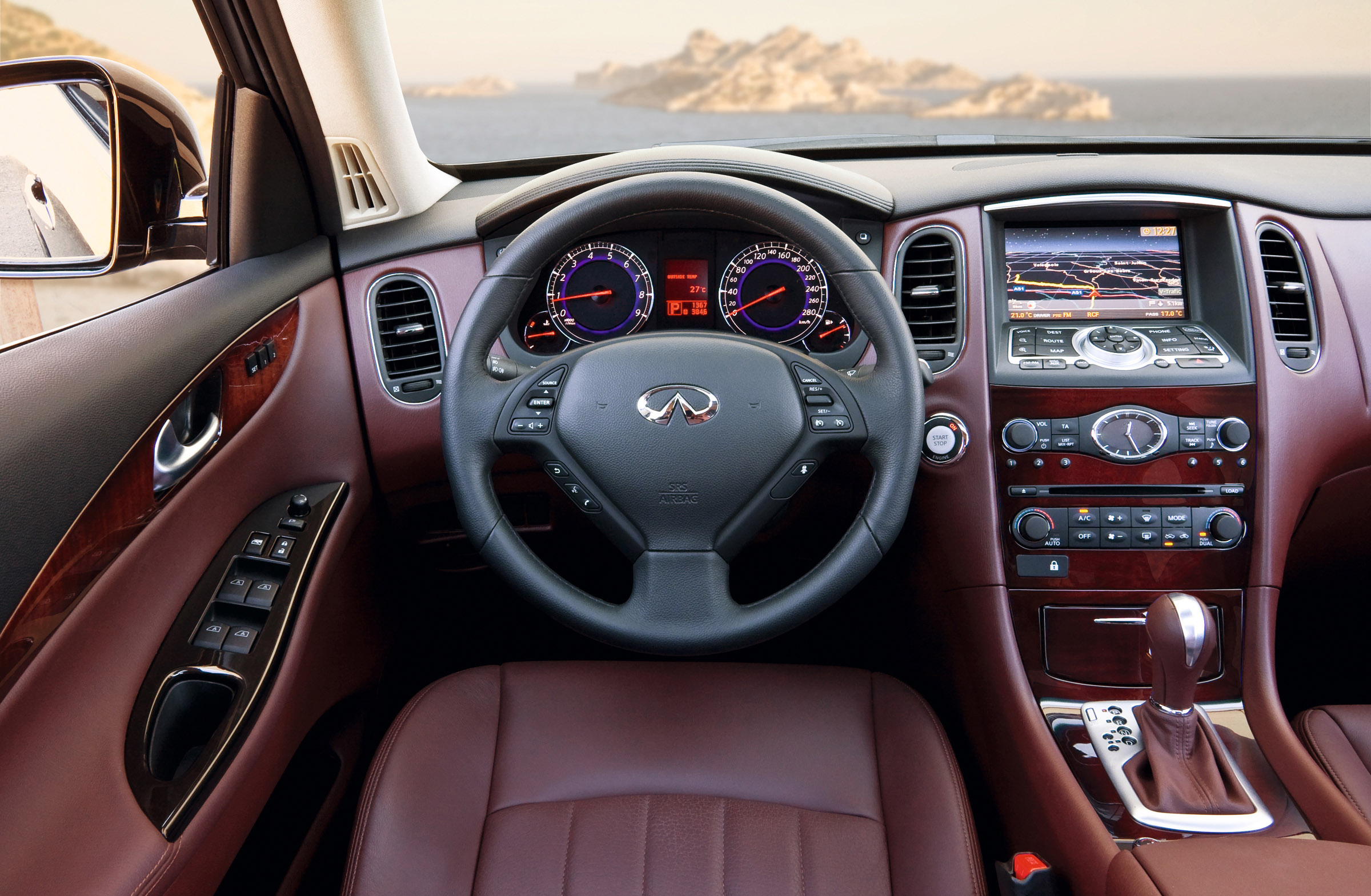 Infiniti Roadside Assistance >> 2012 Vilner Infiniti EX37 - The Modern Crossover with Оld ...