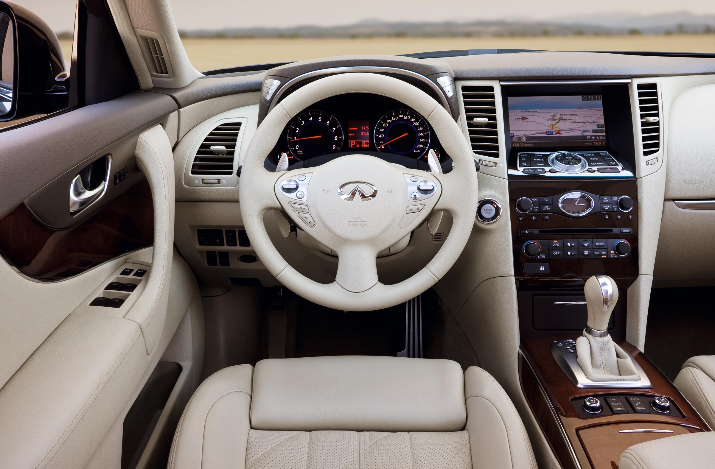 Infiniti Fx Where Sports Car And Suv Meet