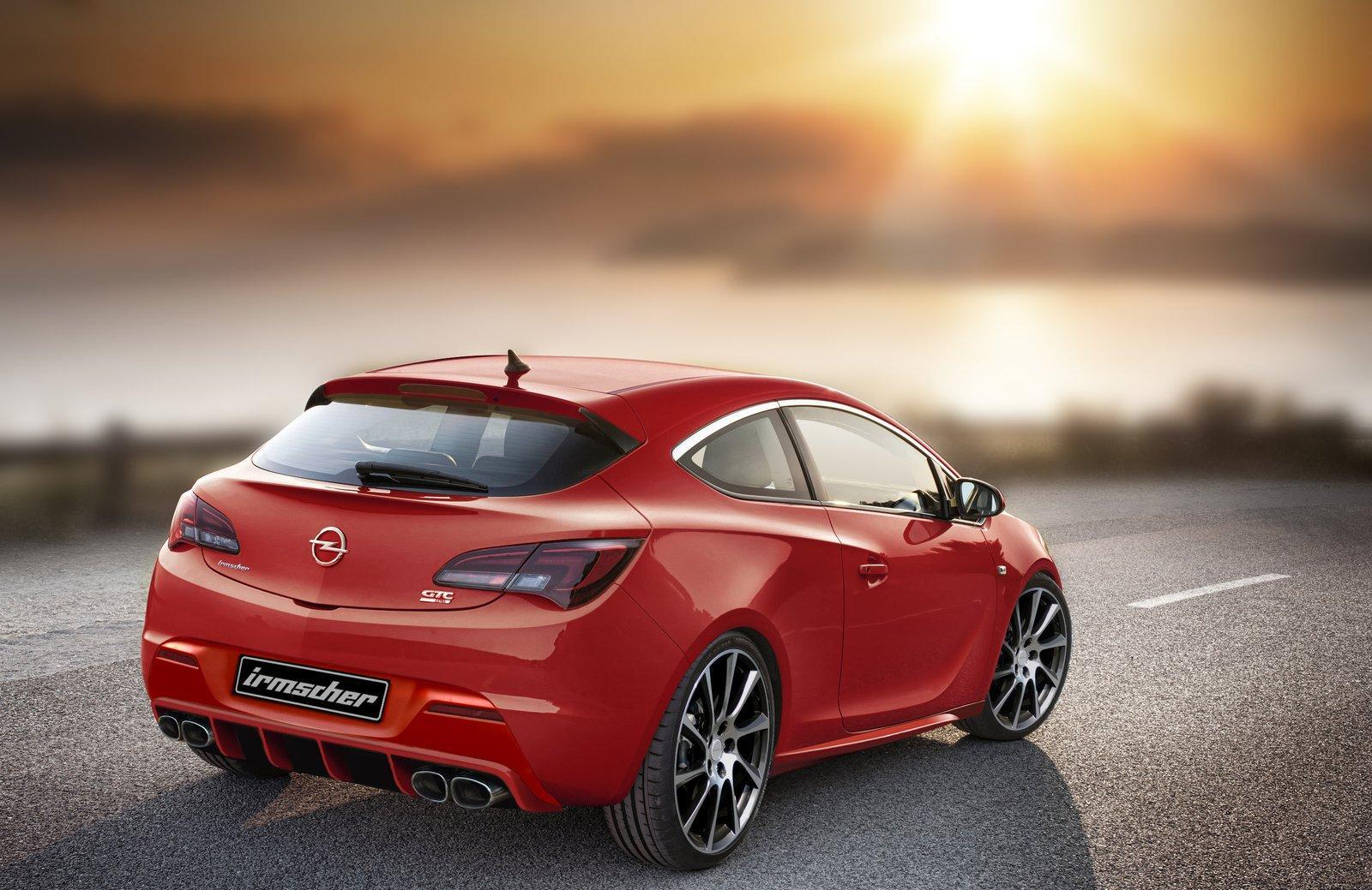 Amazing Irmscher Opel Astra GTC