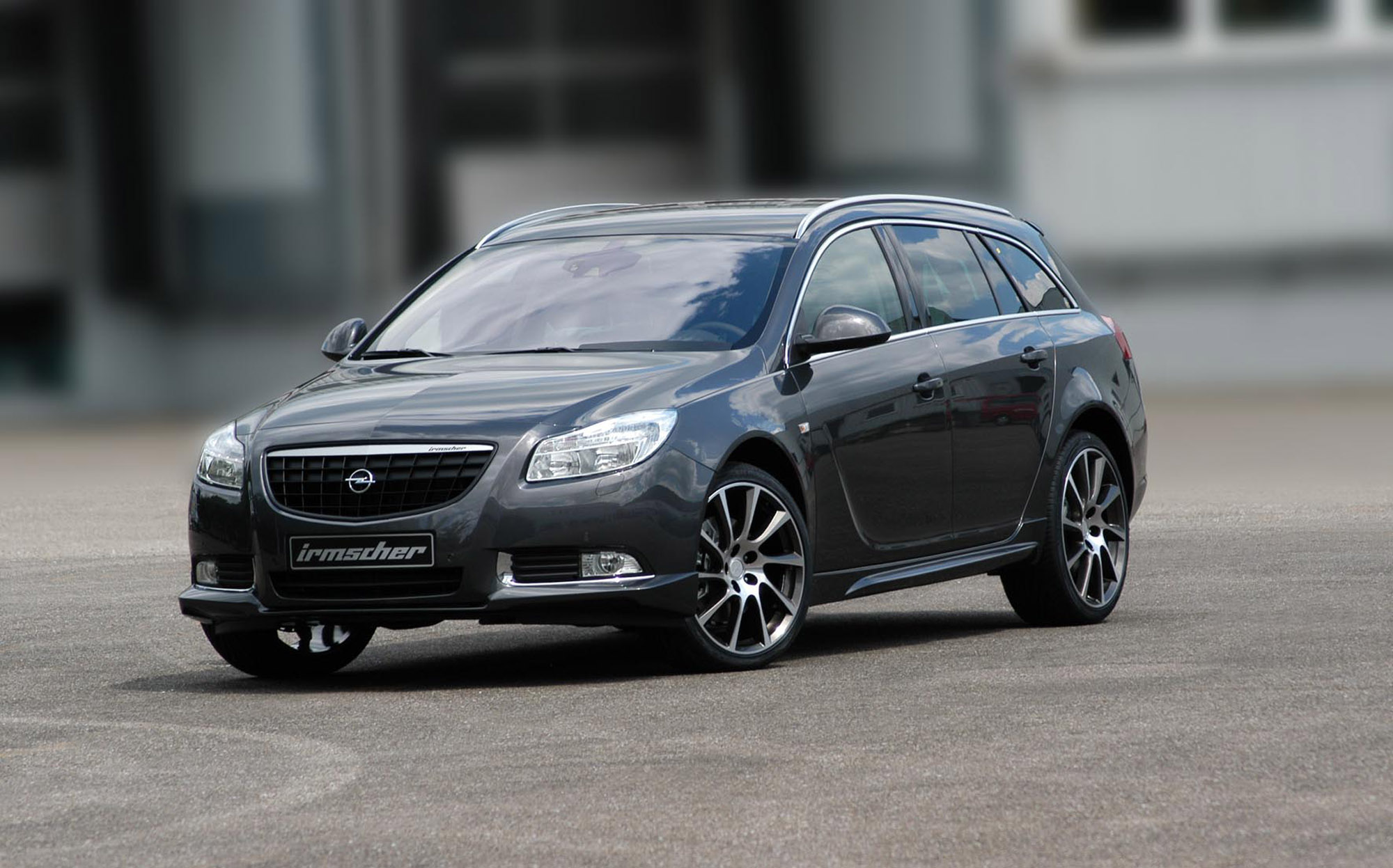 irmscher retrofits the opel insignia sports tourer. Black Bedroom Furniture Sets. Home Design Ideas